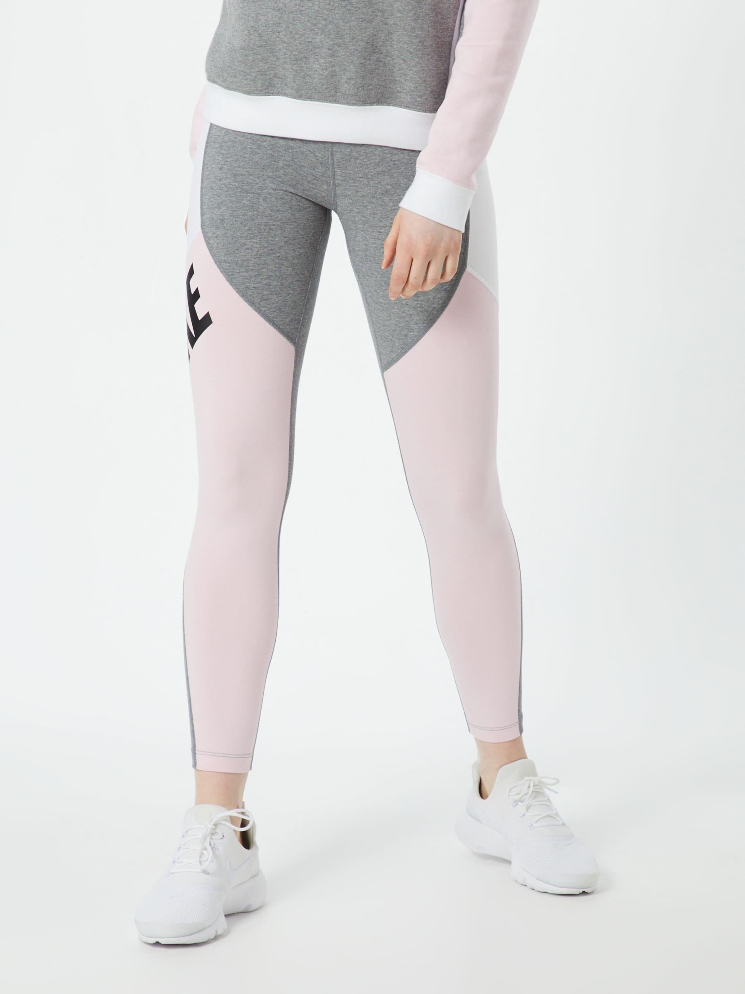 Nike Blanc GrisRose Sportswear Leggings En c4AqRj53L