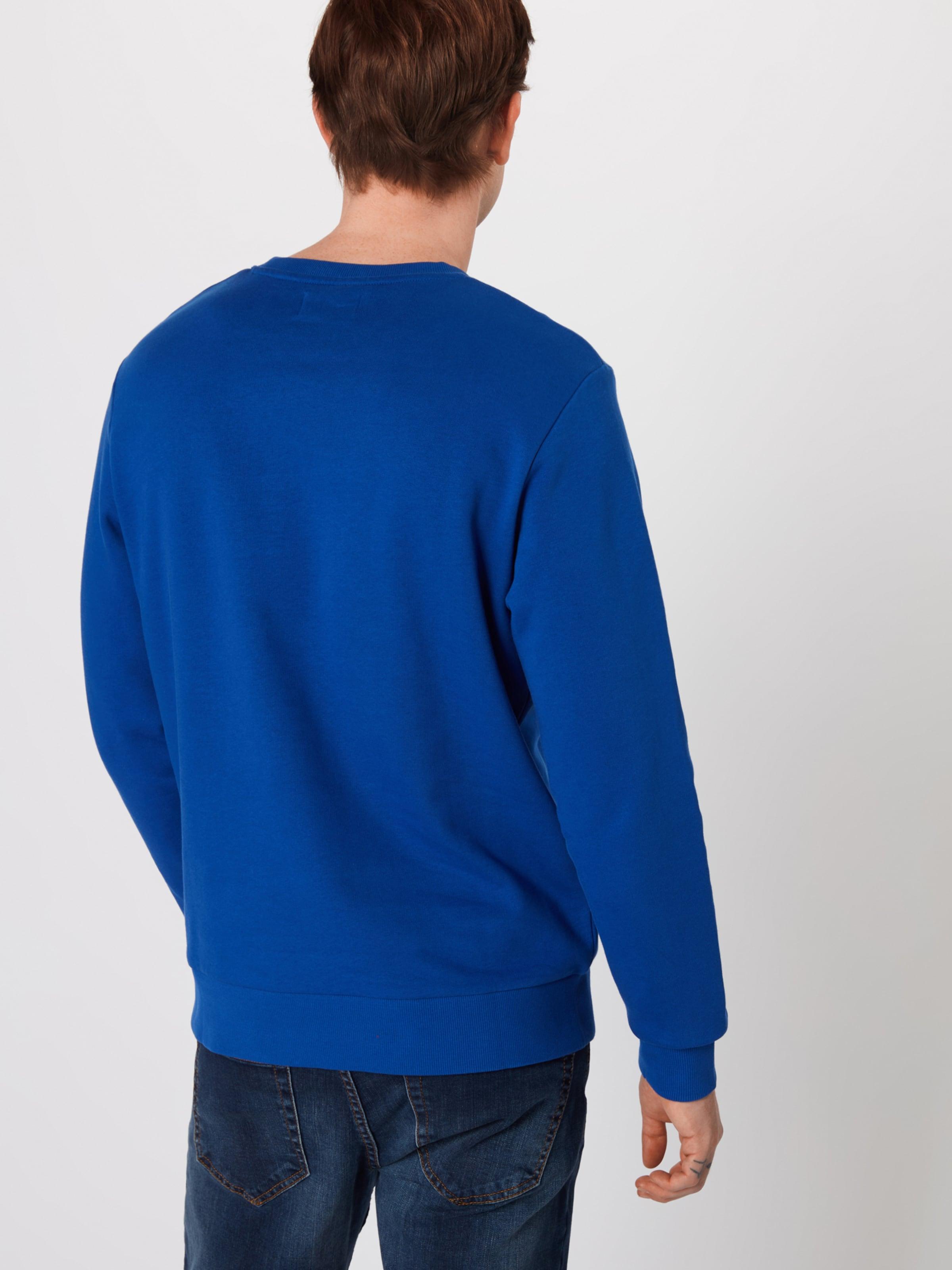 Jackamp; Sweat Empire BleuRose 'jorart Jones Crew shirt Sweat Neck' En K1FJcl