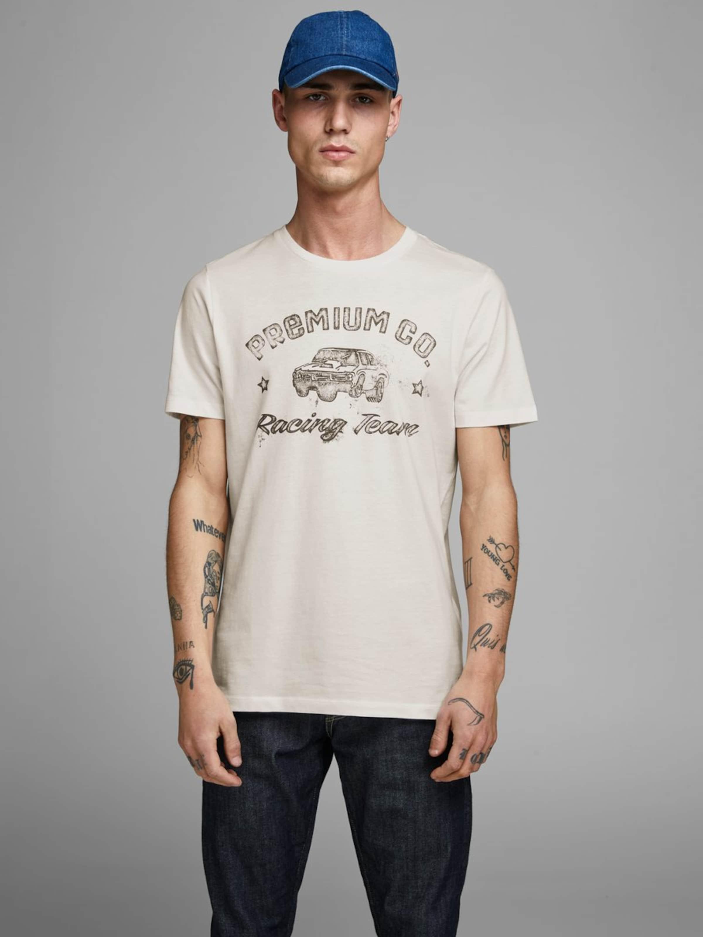 En Jackamp; Rouille Argent T shirt Jones CobaltRouge Bleu MVqUzGSp