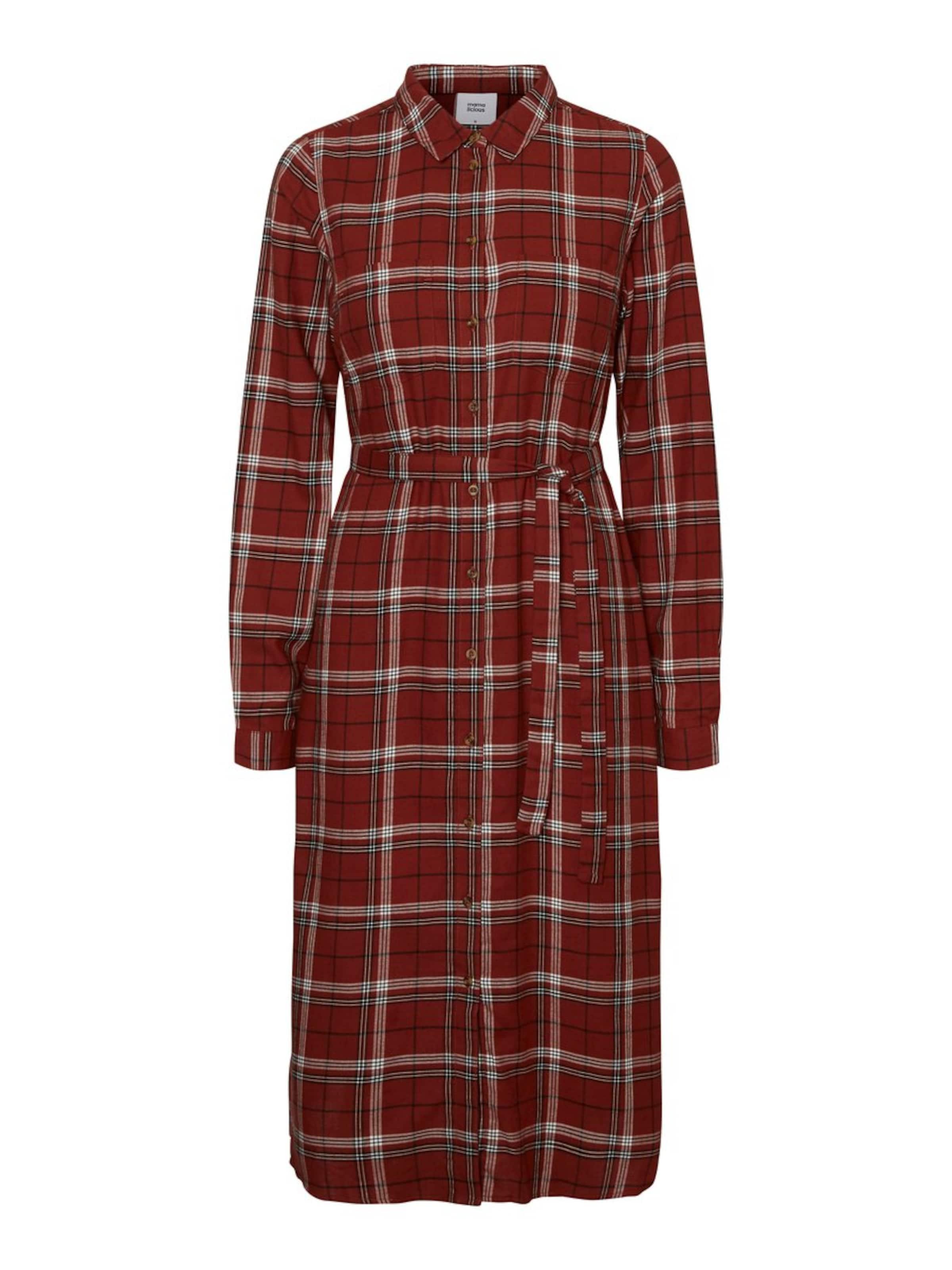 Mamalicious chemise Robe CeriseNoir En Blanc Rouge JTlK3uF1c