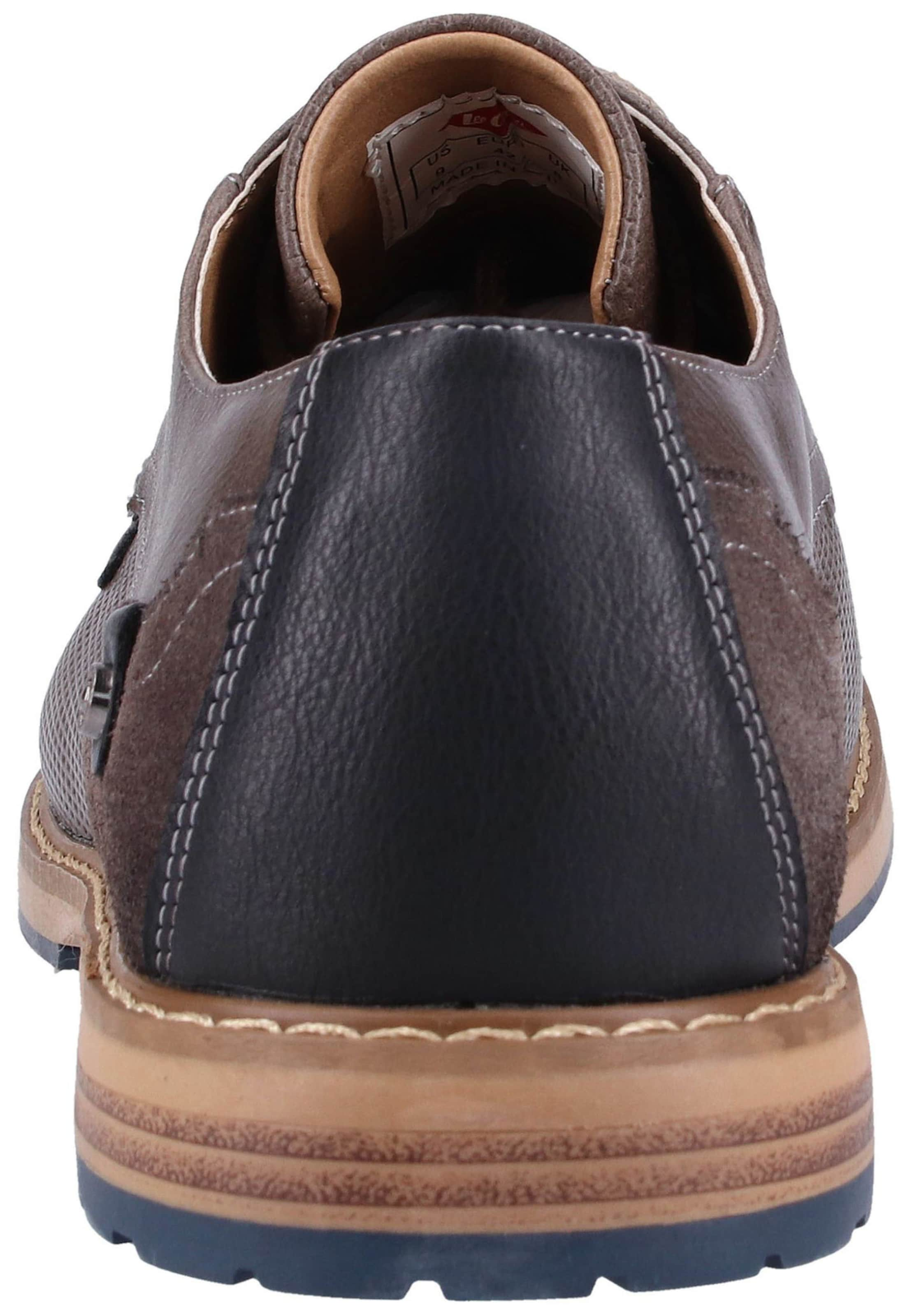 Lee Bleu Chaussure À En Cooper Lacets FoncéTaupe POZukXiT