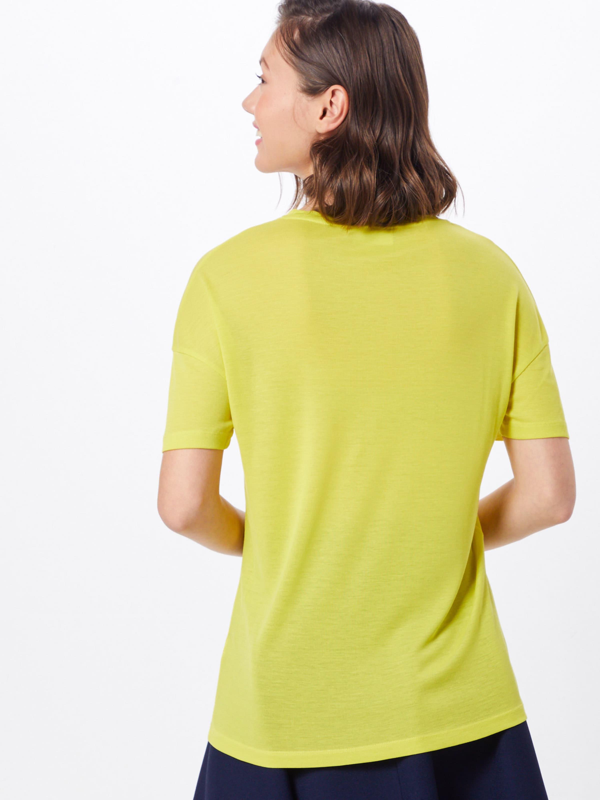 'tee shirt Jaune Lacoste T shirt' En wO0nP8k