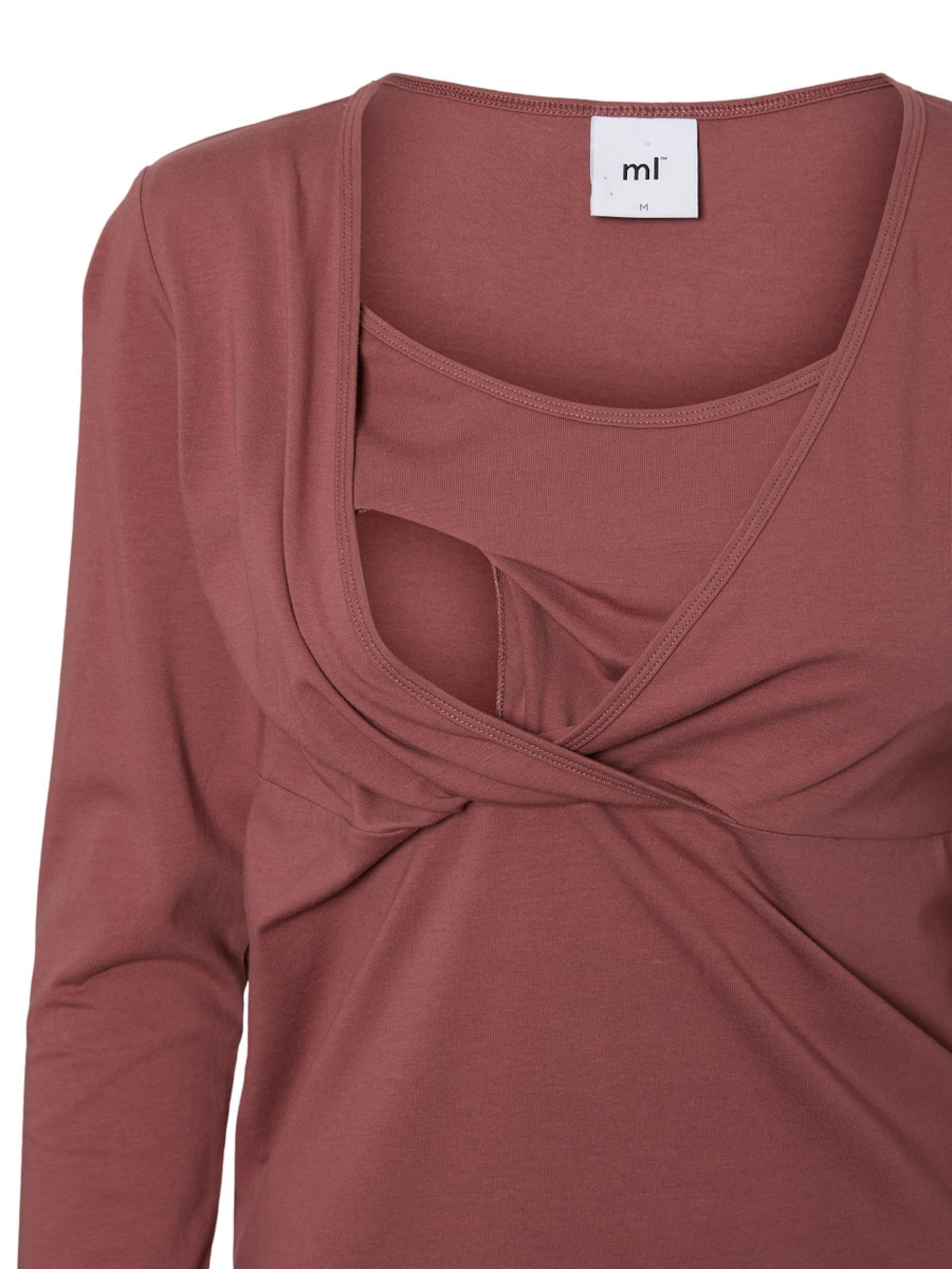 shirt En Mamalicious Rouge PastelBlanc T UVqSzMpG