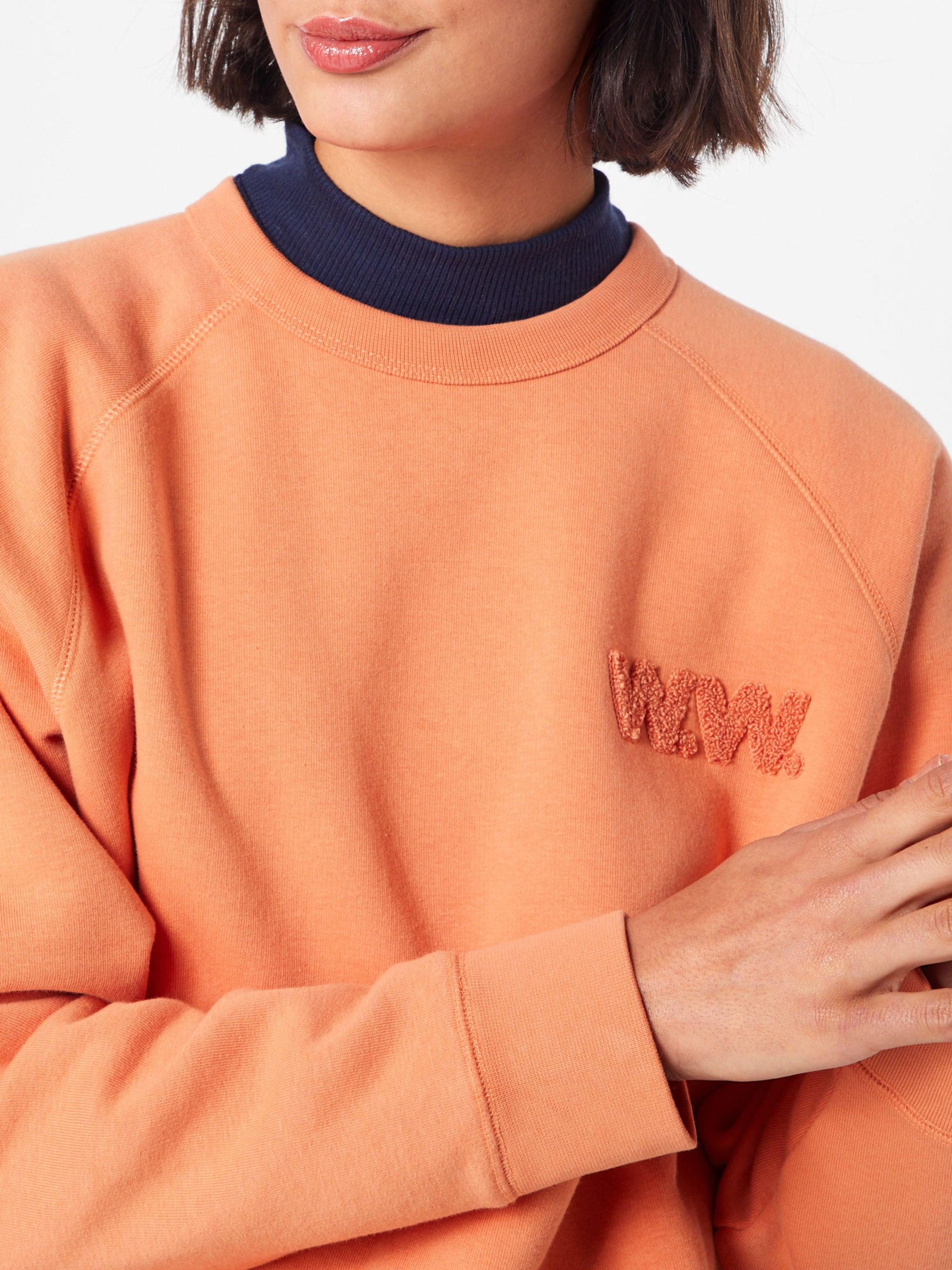 En Sweat Rouge 'jerri' Wood shirt Clair qUzMVpGLS