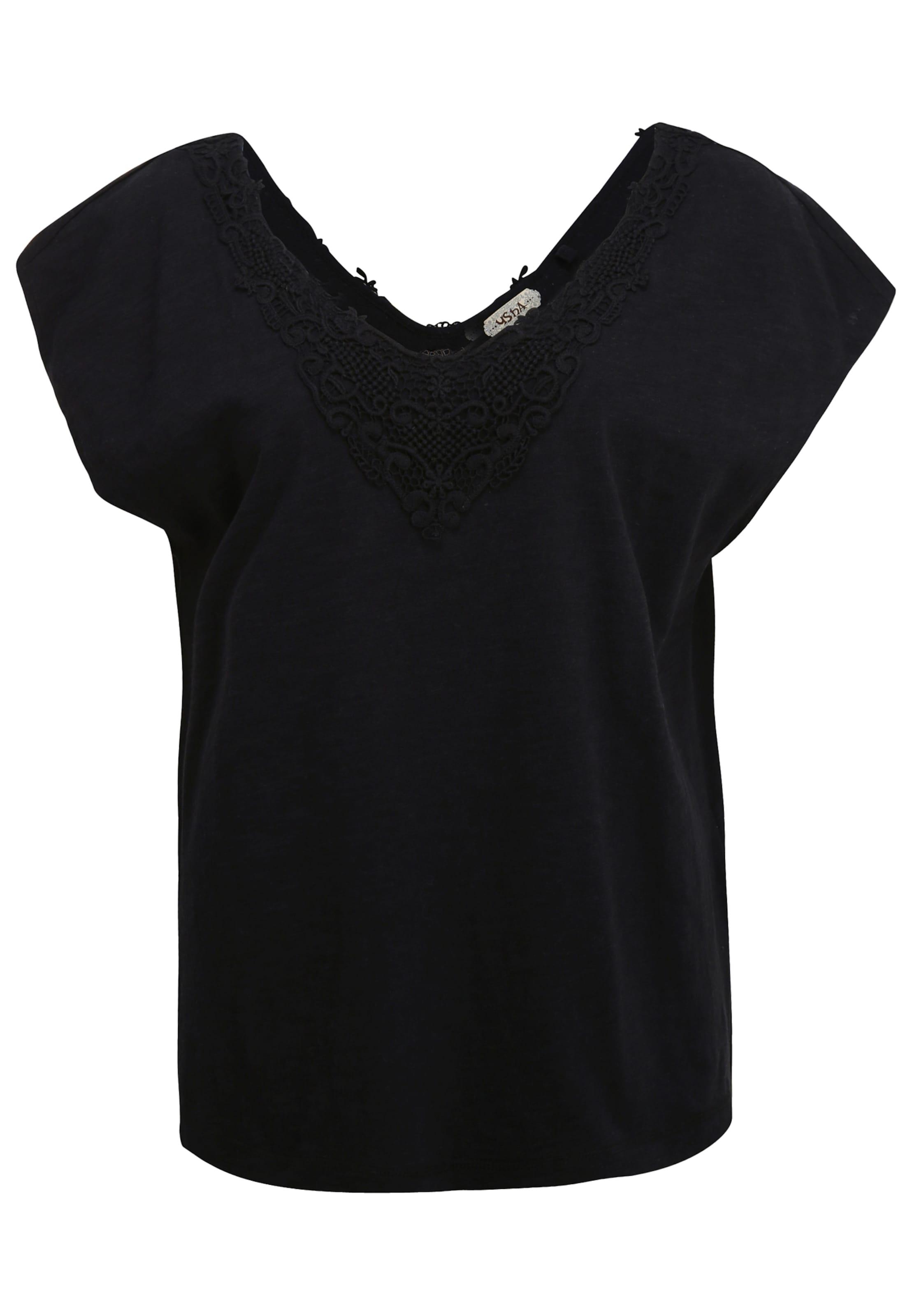 Usha En shirt Usha T Blanc T lcJF13TK