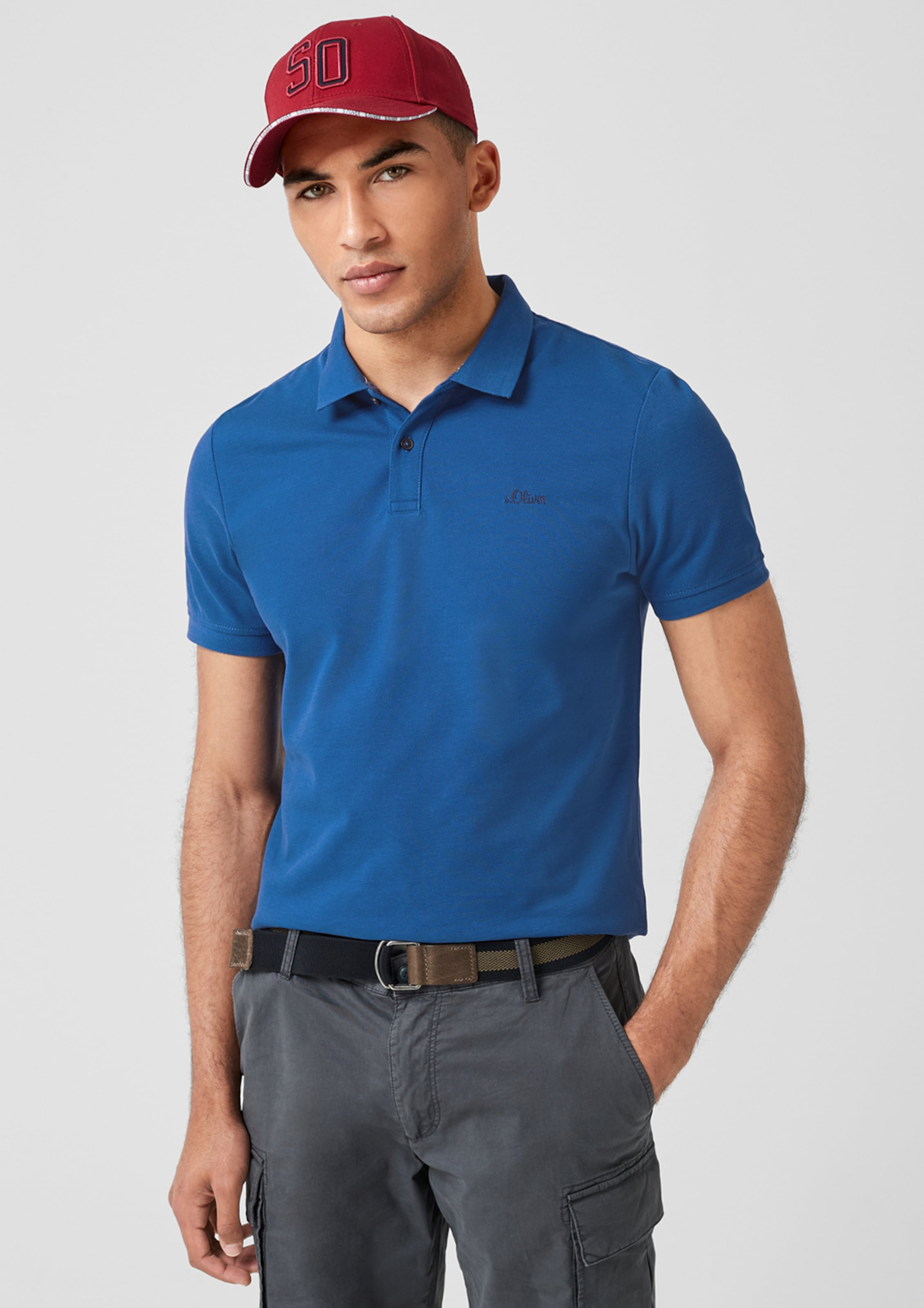 Blau Red Label oliver In S Poloshirt fb7ymI6gYv