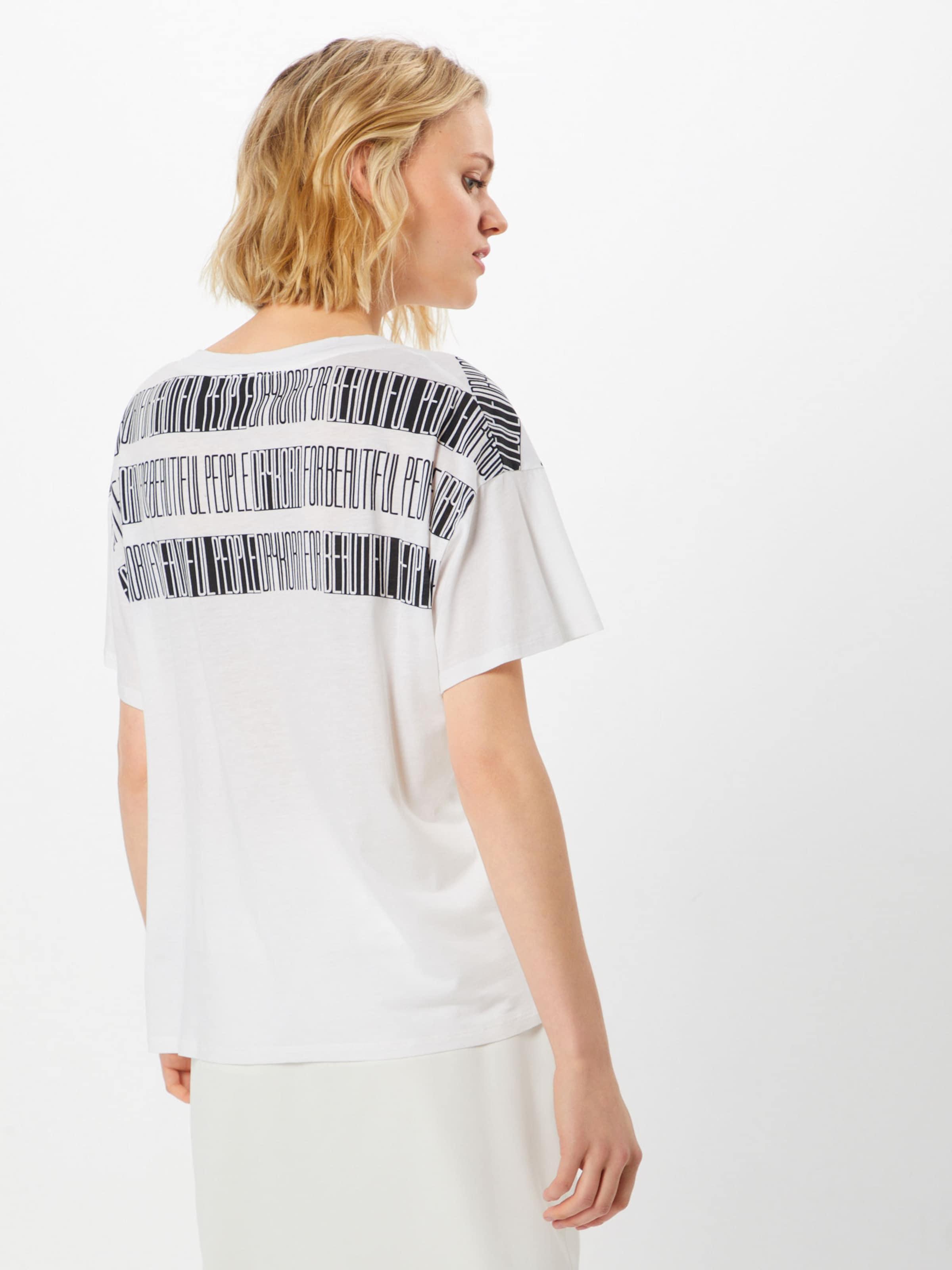 T shirt 'kyla Oversize En Drykorn NoirBlanc p12' CerBxWdo