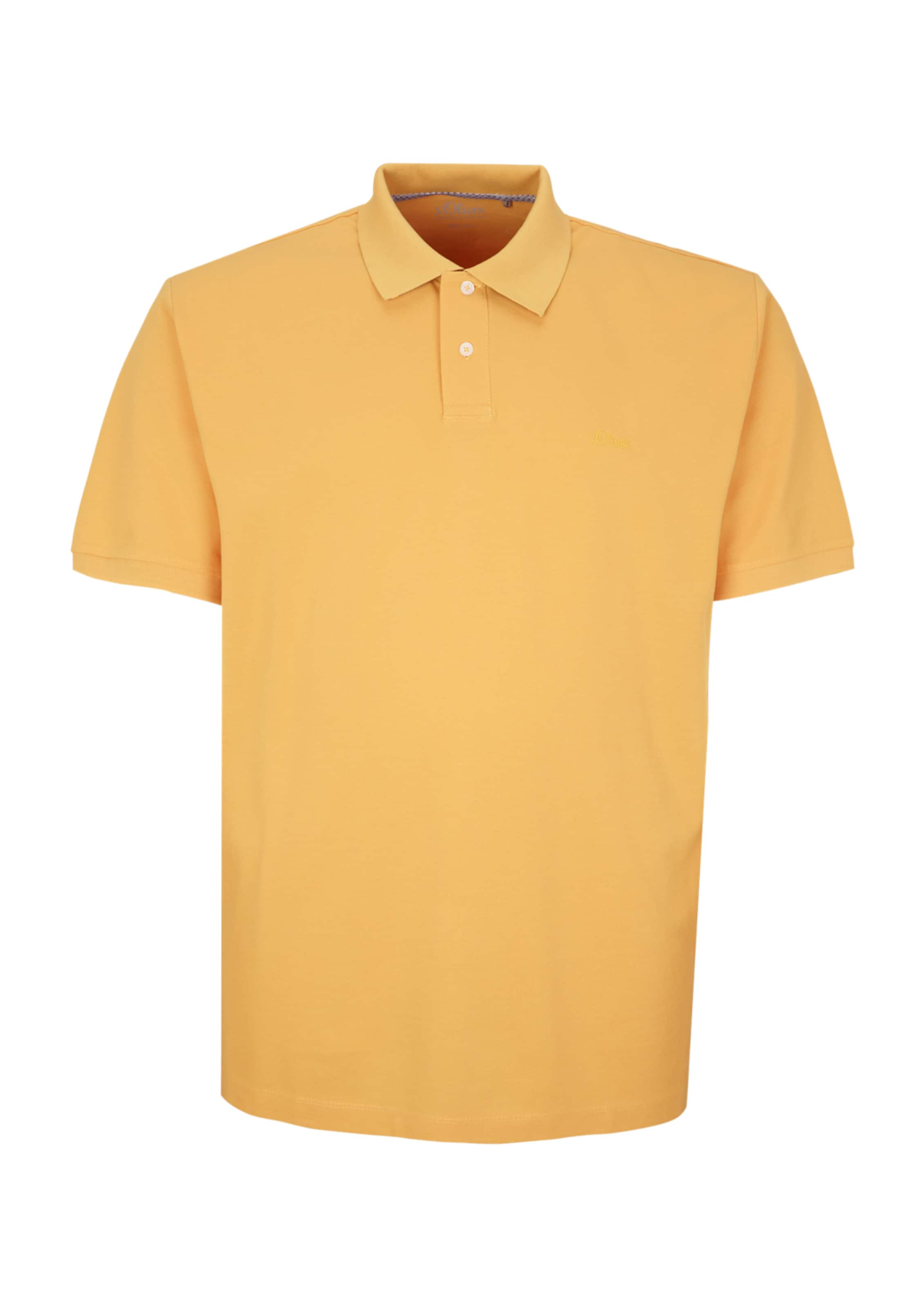 S Label oliver In Goldgelb Red Poloshirt nP80kwO