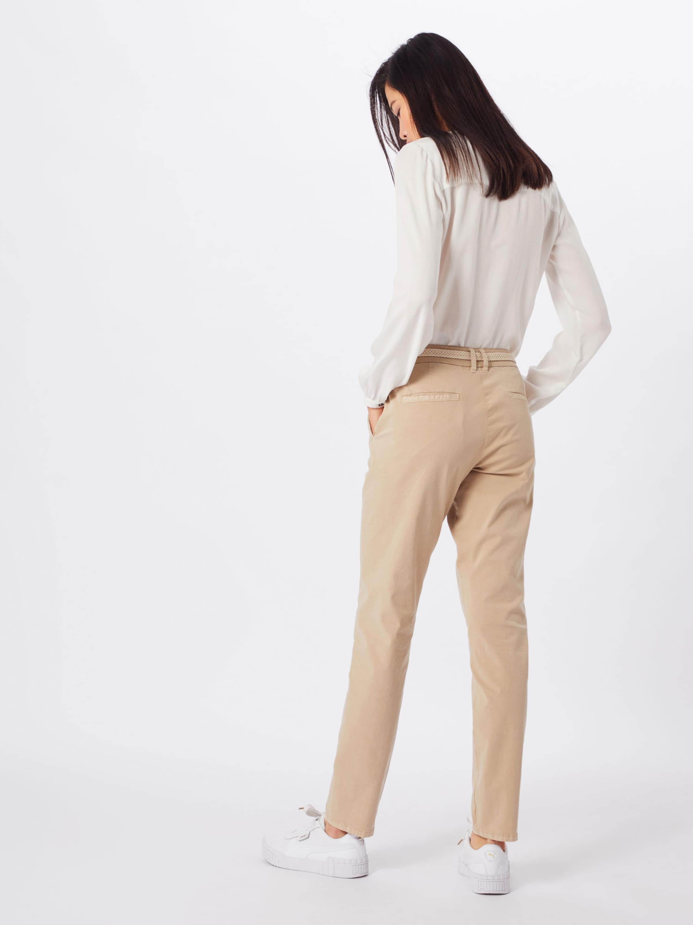 Label Chino En Red 'smart Chino' Pantalon S oliver Rouge WHe9I2EDY