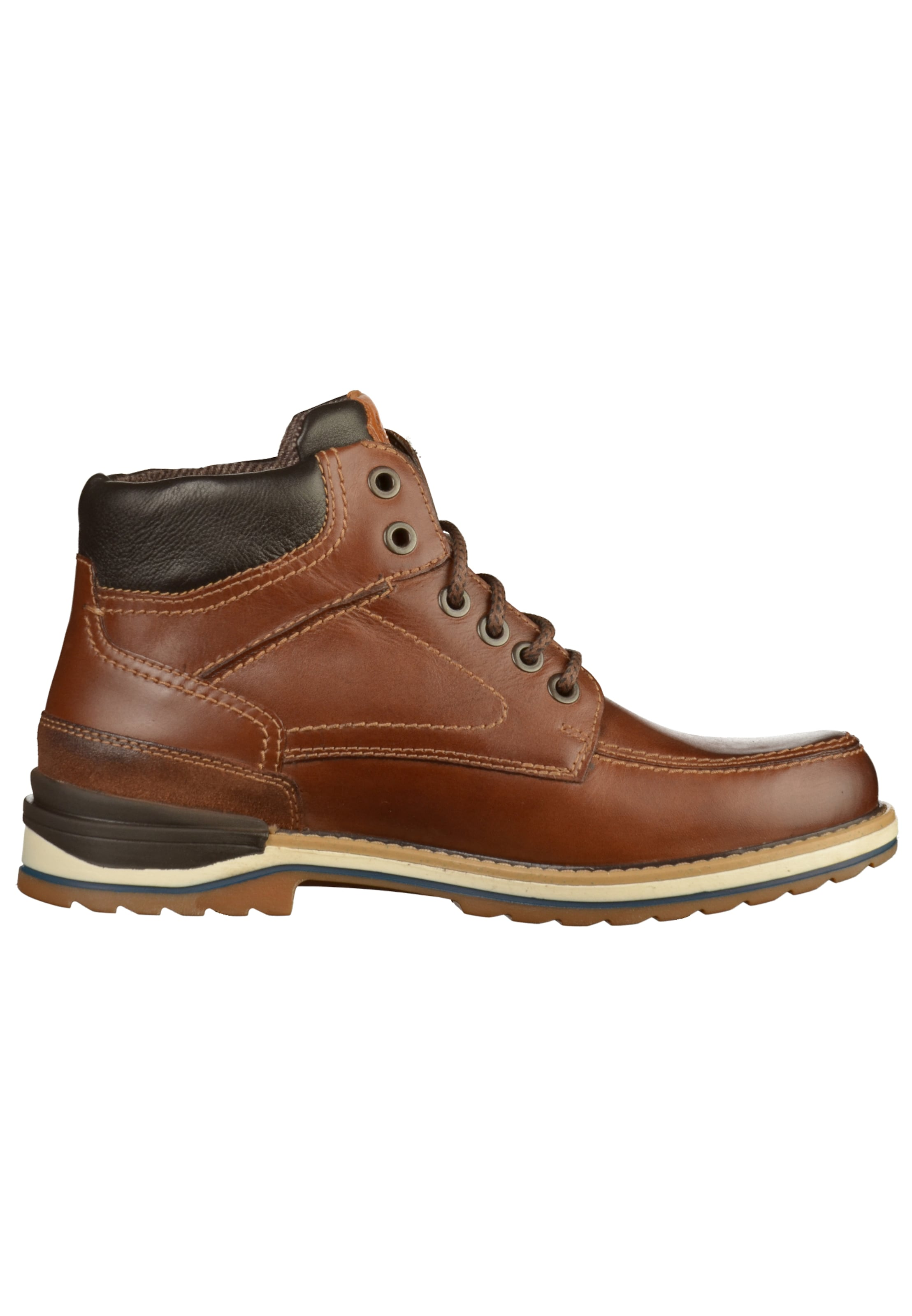 Fretz Men Marron Bottes En À Lacets ulKJ5TcF31