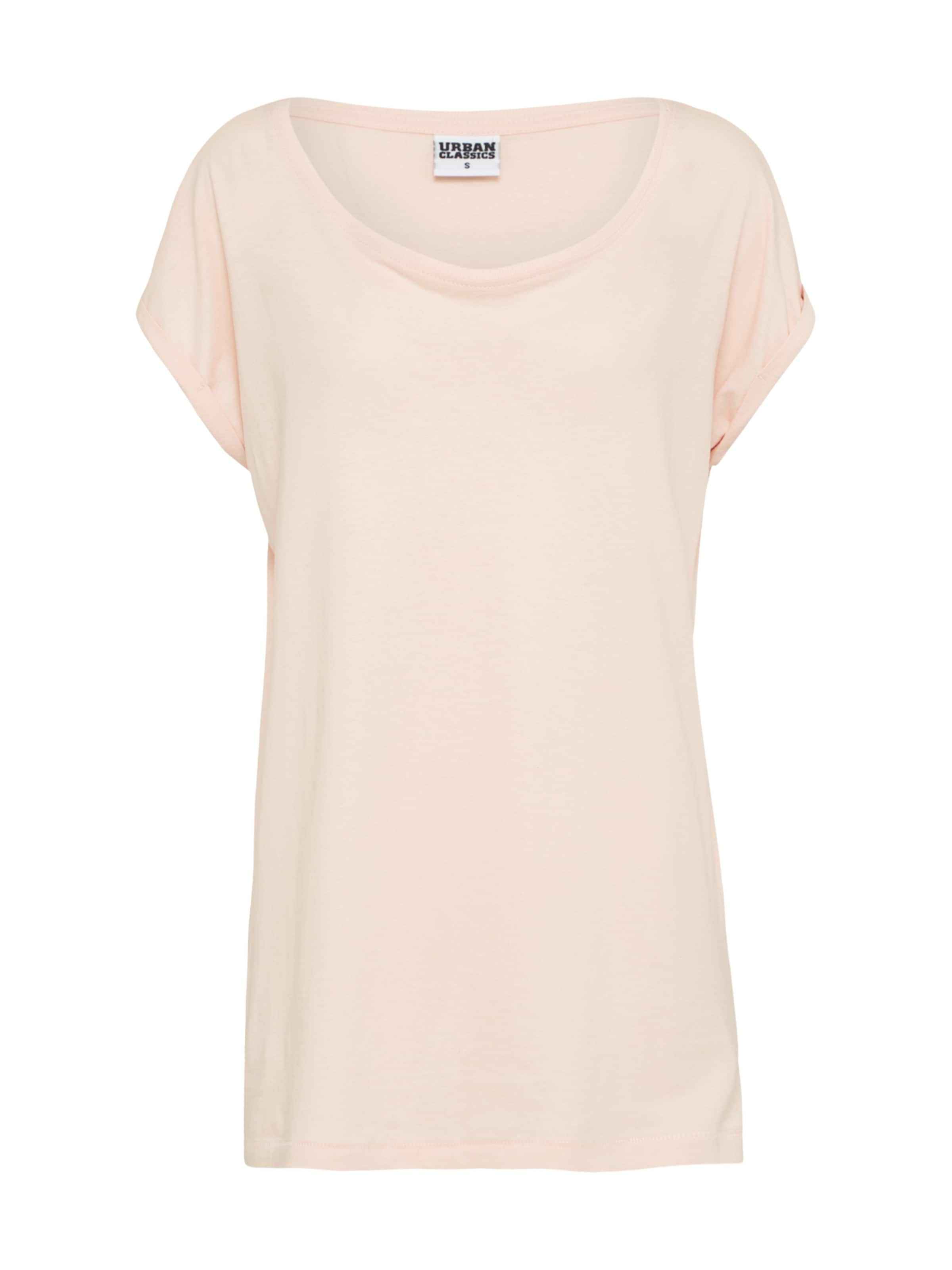 Urban Classics Shoulder' Curvy 'extended Rosa In shirt T kXOZuPi