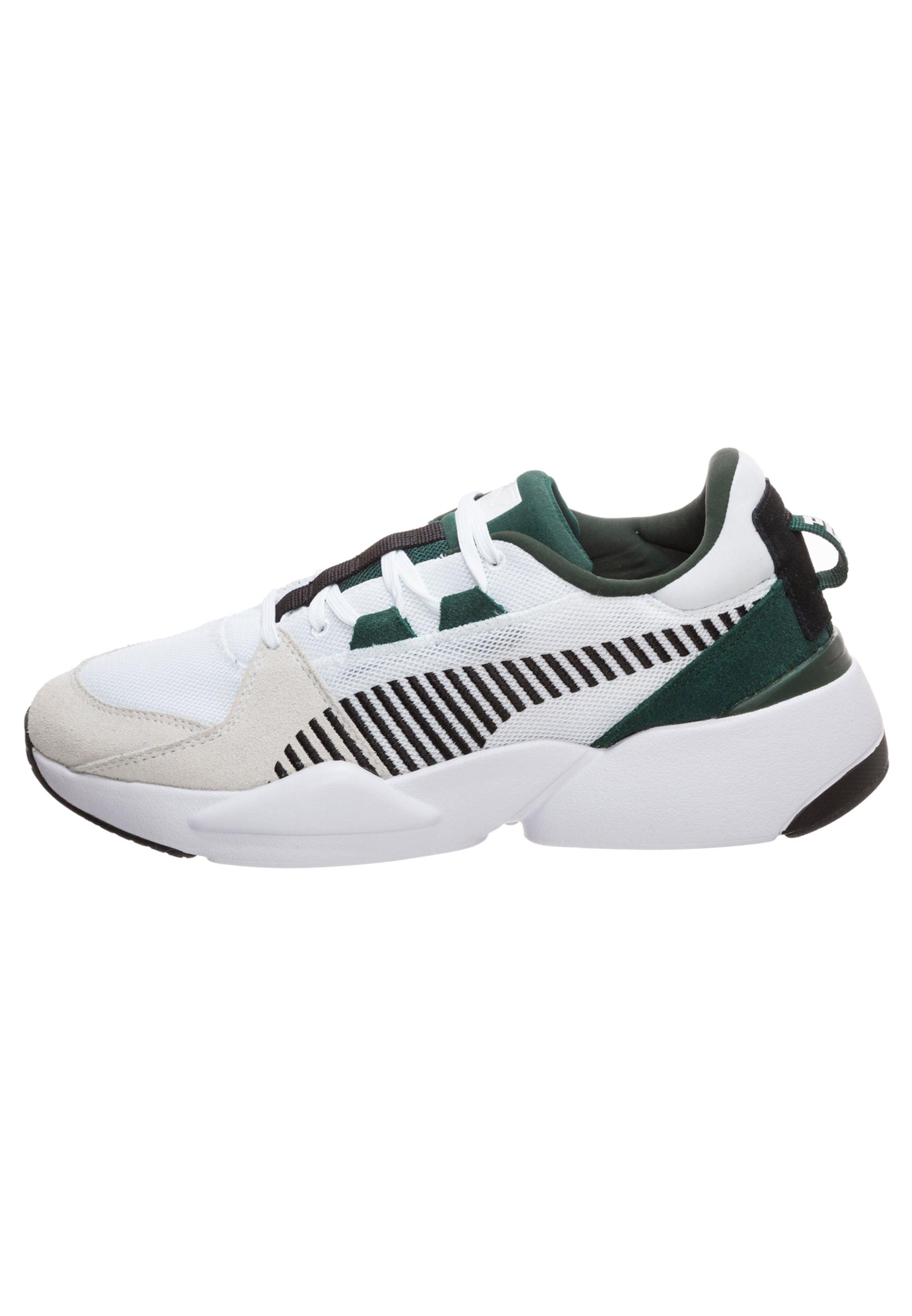 En Blanc Puma Suede' Baskets Vert Basses 'zeta FoncéNoir Cassé W2DH9EI