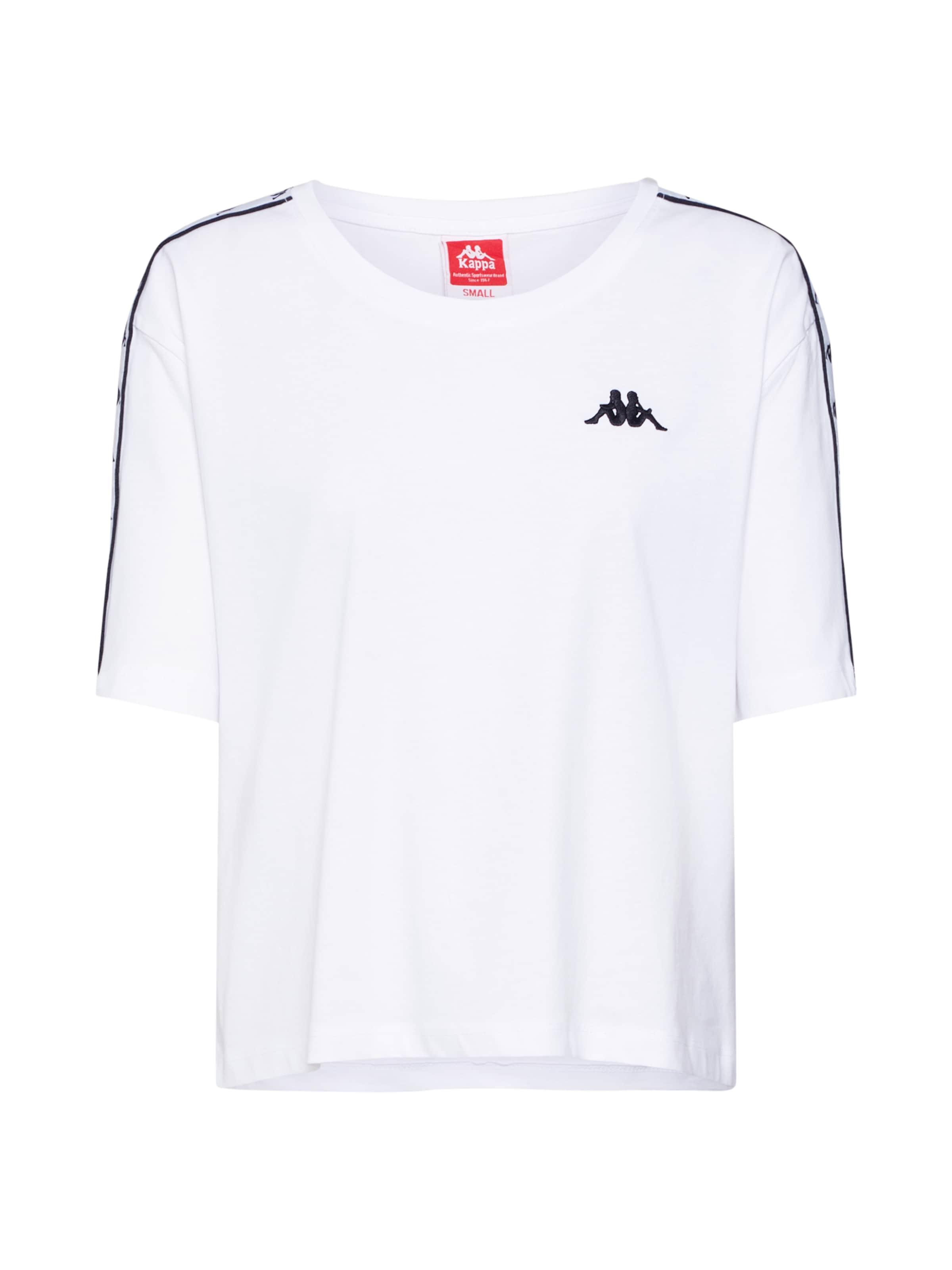 shirt T NoirBlanc 'eleni' En Kappa dxoWQBreC