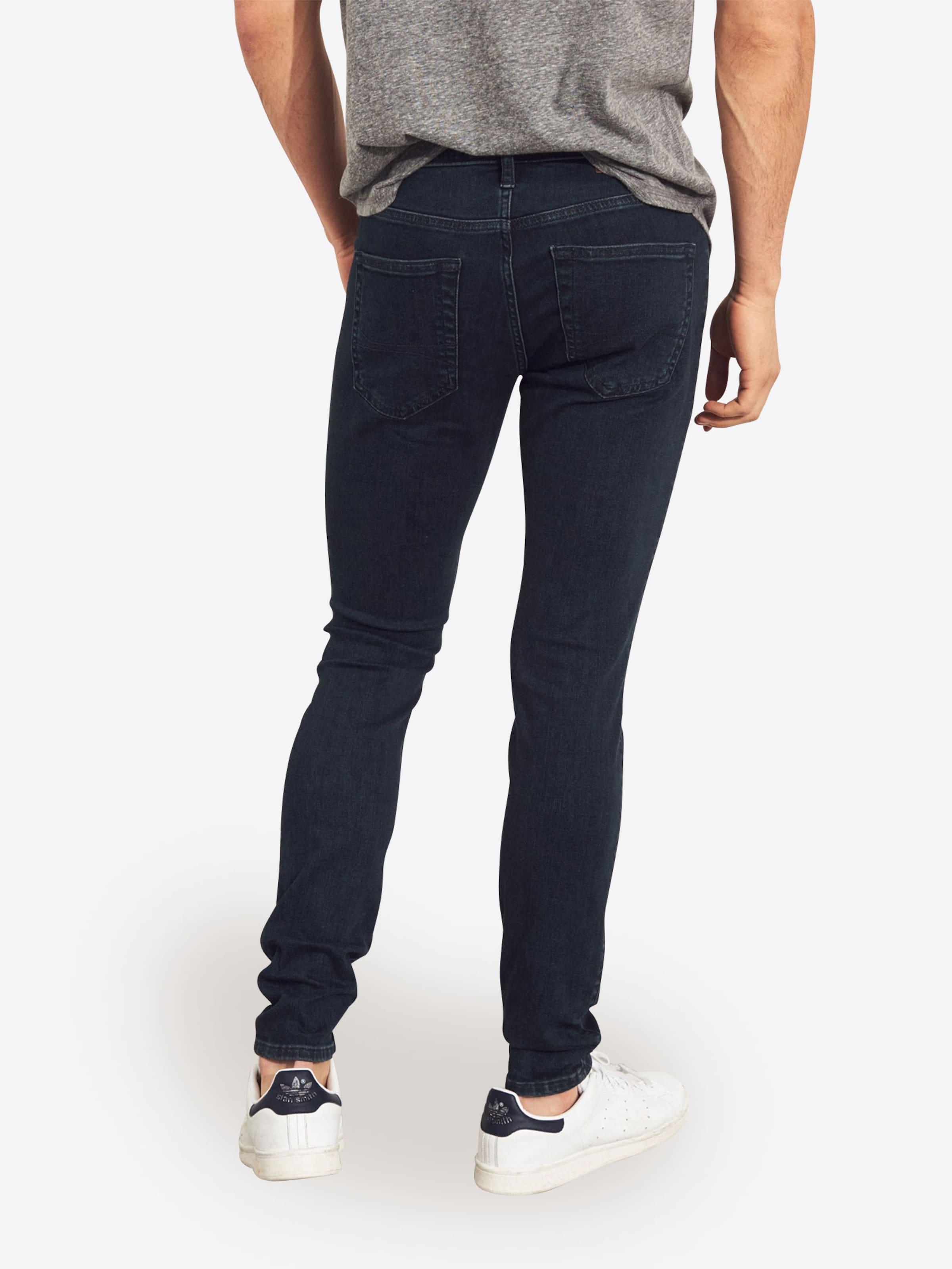 Extreme 'dark Jean Bleu Denim Overdye Skinny' Hollister En b9Ie2YEHWD