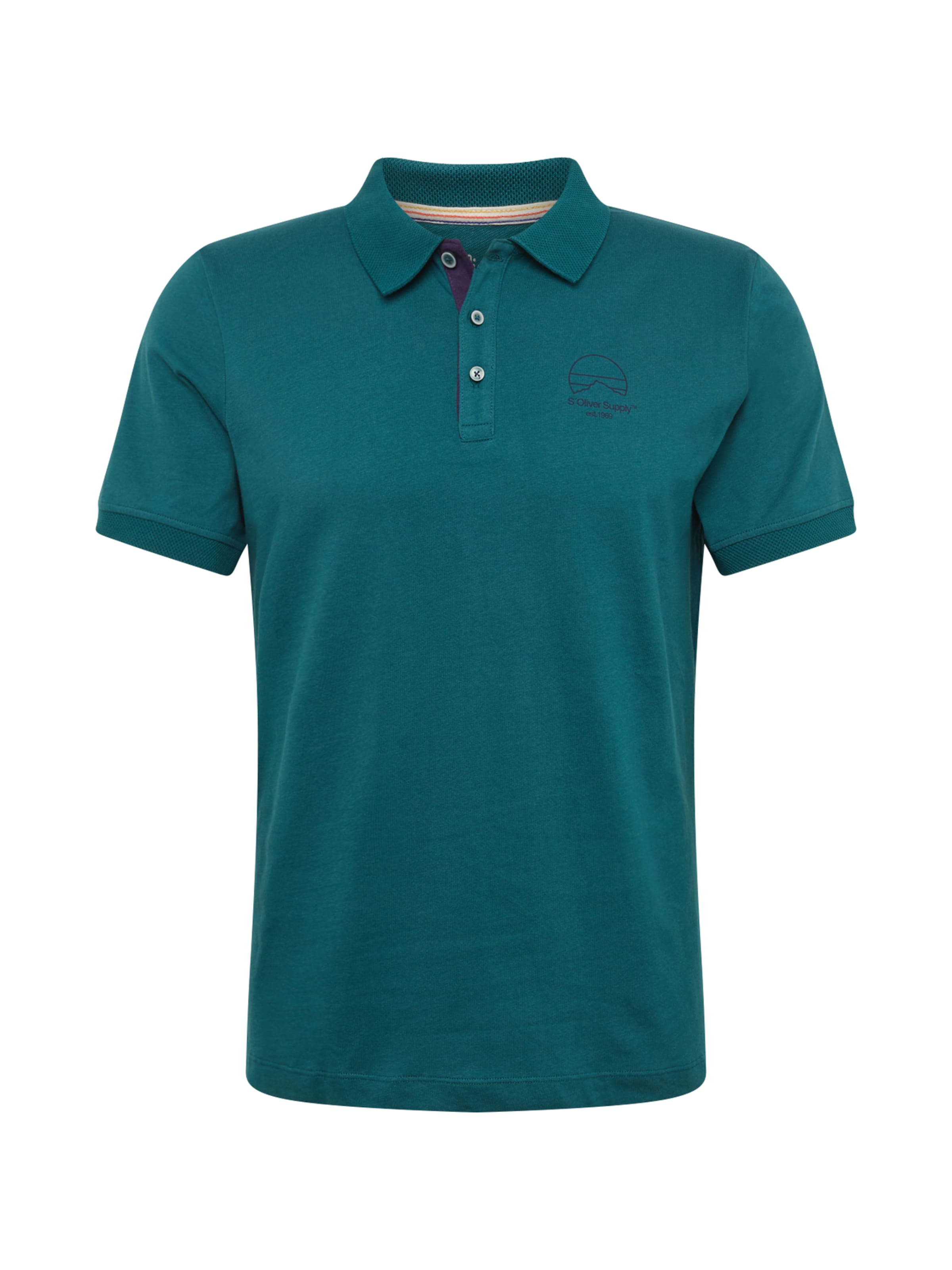 Red S In oliver Poloshirt BlauPetrol Label eCoxdB