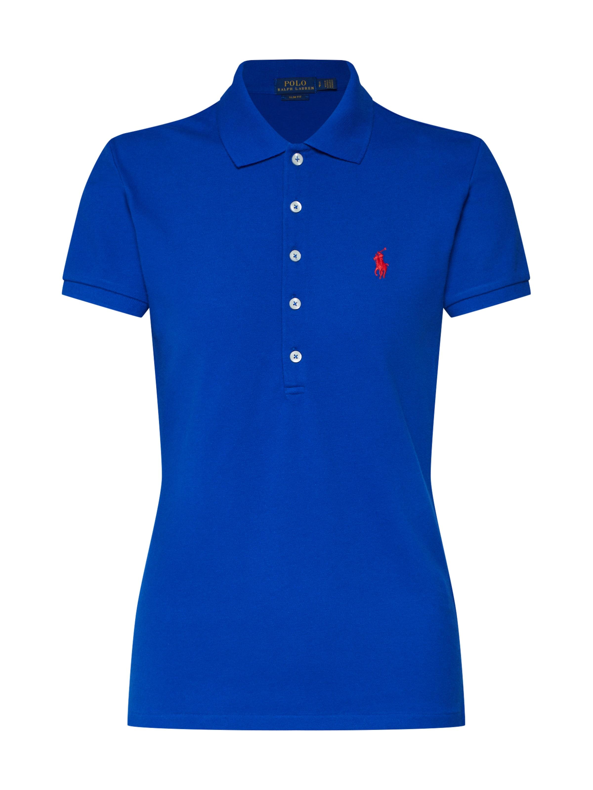 In Ralph Polo 'julie' Lauren Shirt Blauw wO0Pkn8