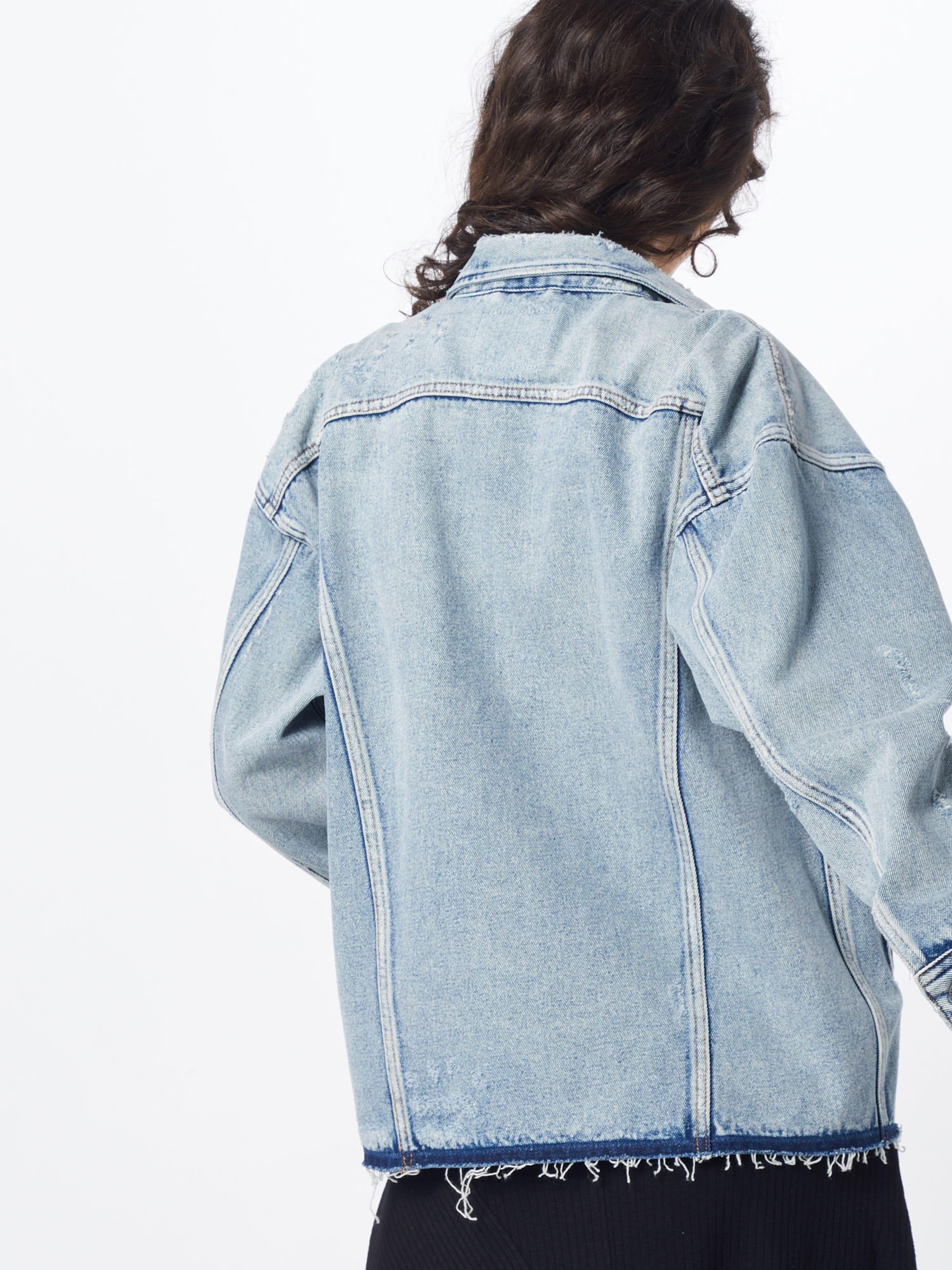Veste Denham 'seoul En Id' saison Bleu Mi Jacket kilwZOuPXT