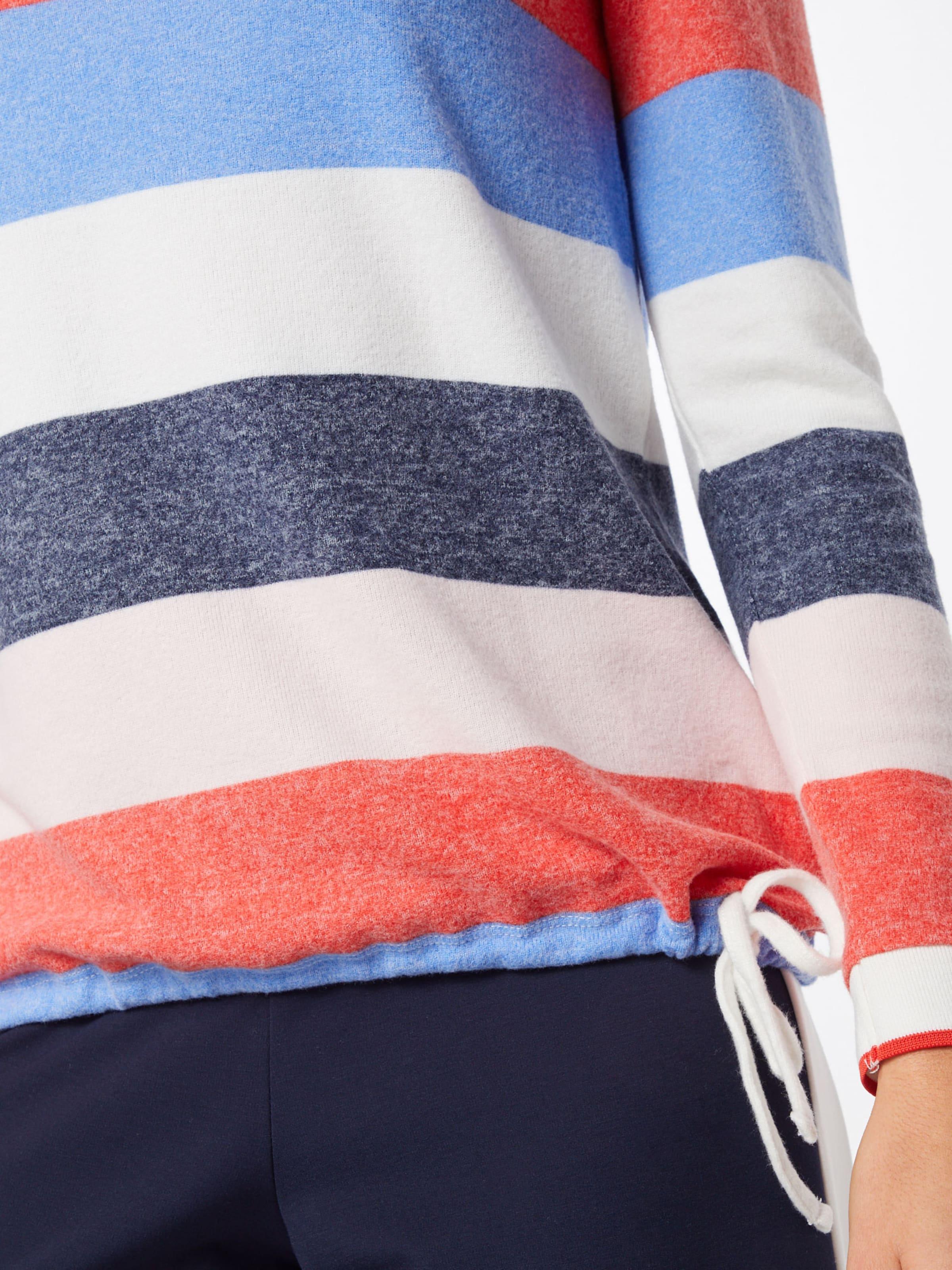 T One FoncéMélange En 'loralie' Couleurs Bleu Street shirt De xCeBdo