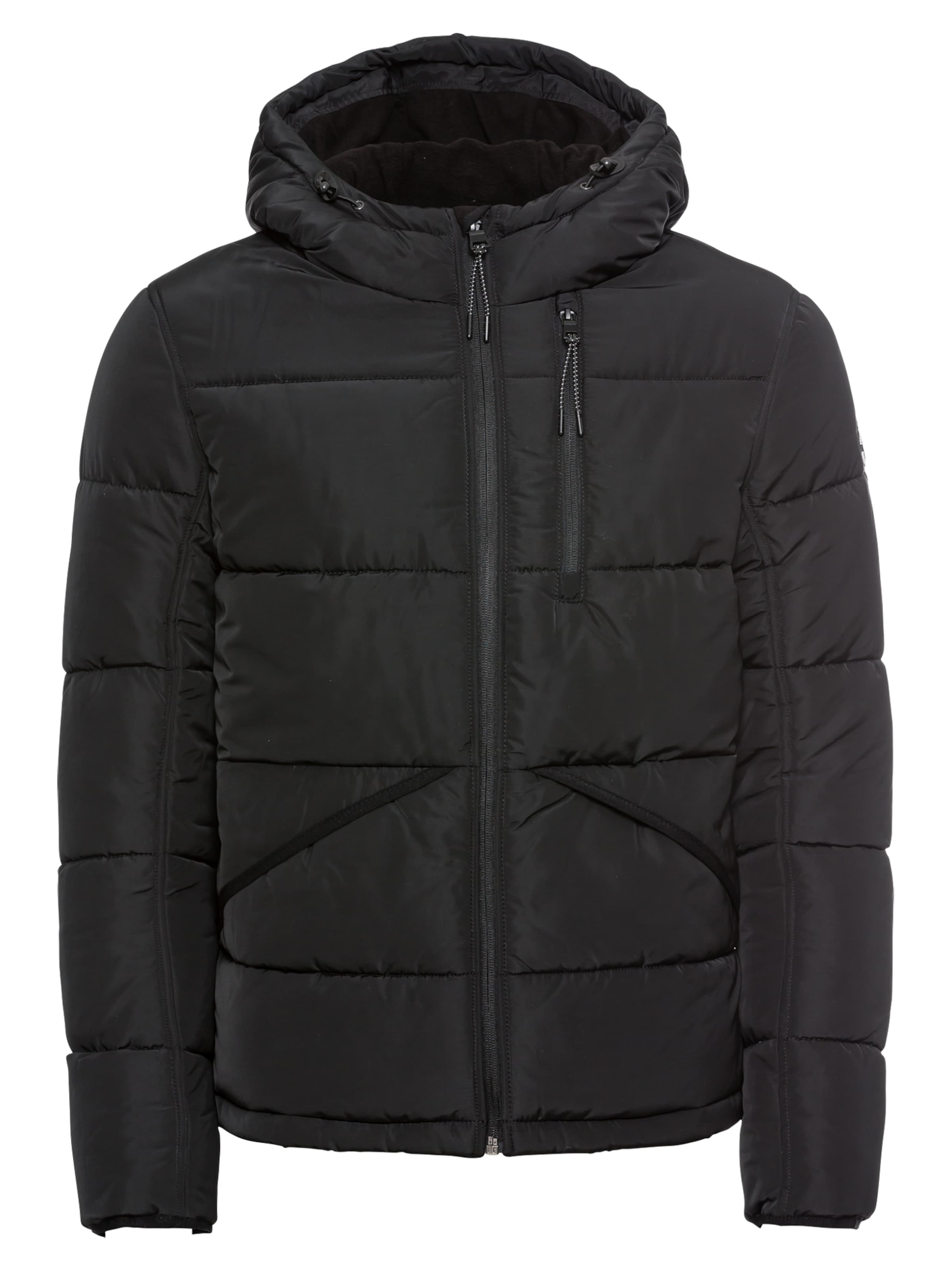 Veste D'hiver Noir En Tom Tailor MVUSpGzq