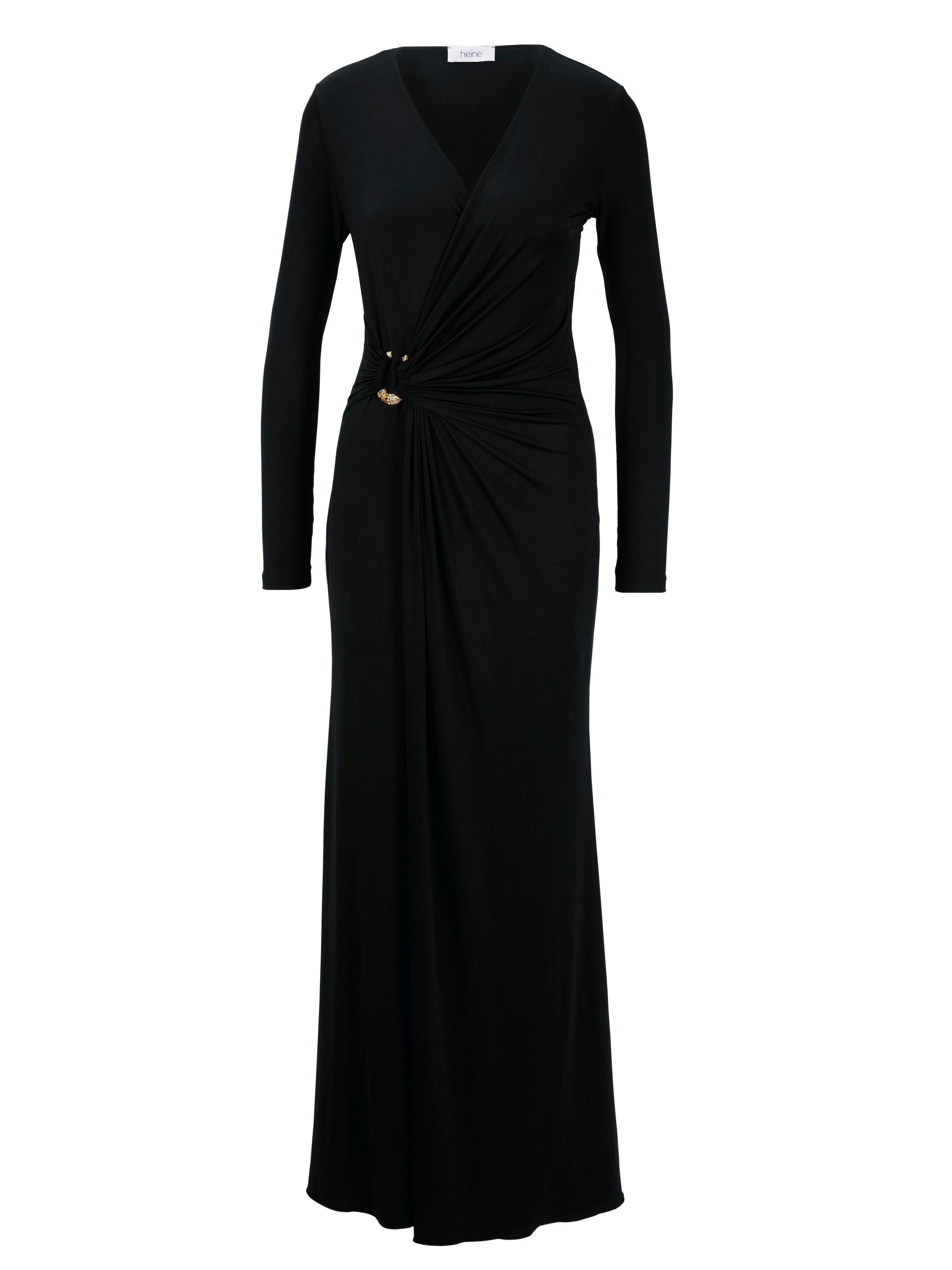 De En Soirée Robe Heine Noir OiZuXPk