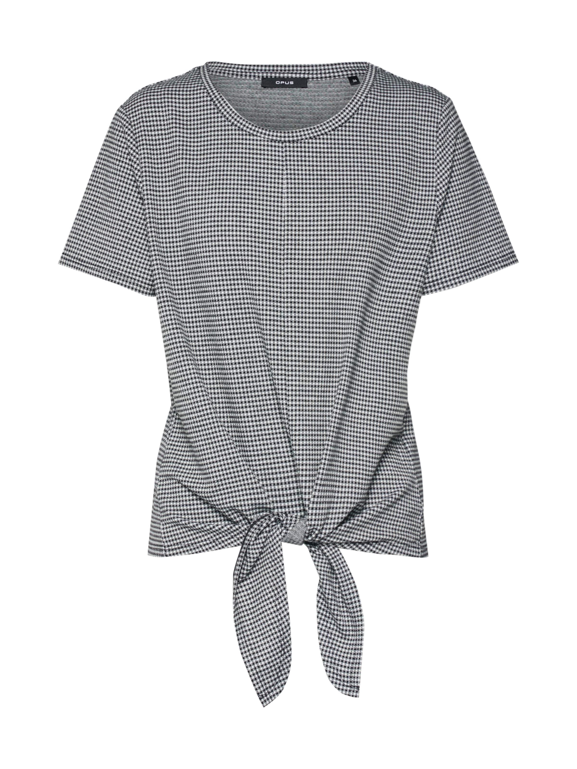shirt Opus En T NoirBlanc 'sallona' CerxdBo