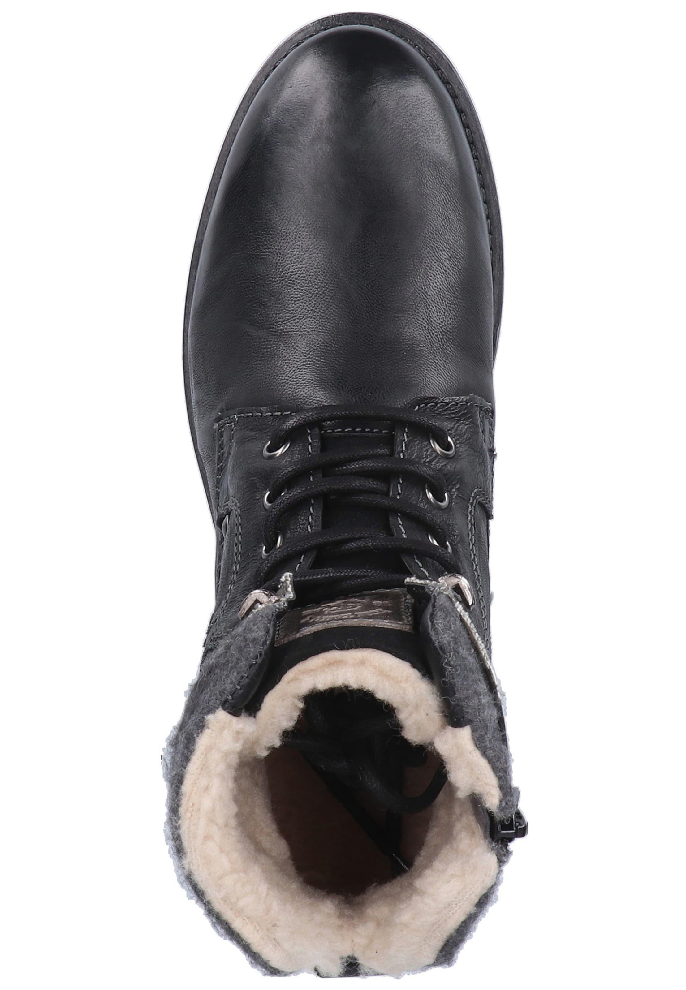 Bottes Noir Lacets Tom Tailor En À cj3RSL5Aq4