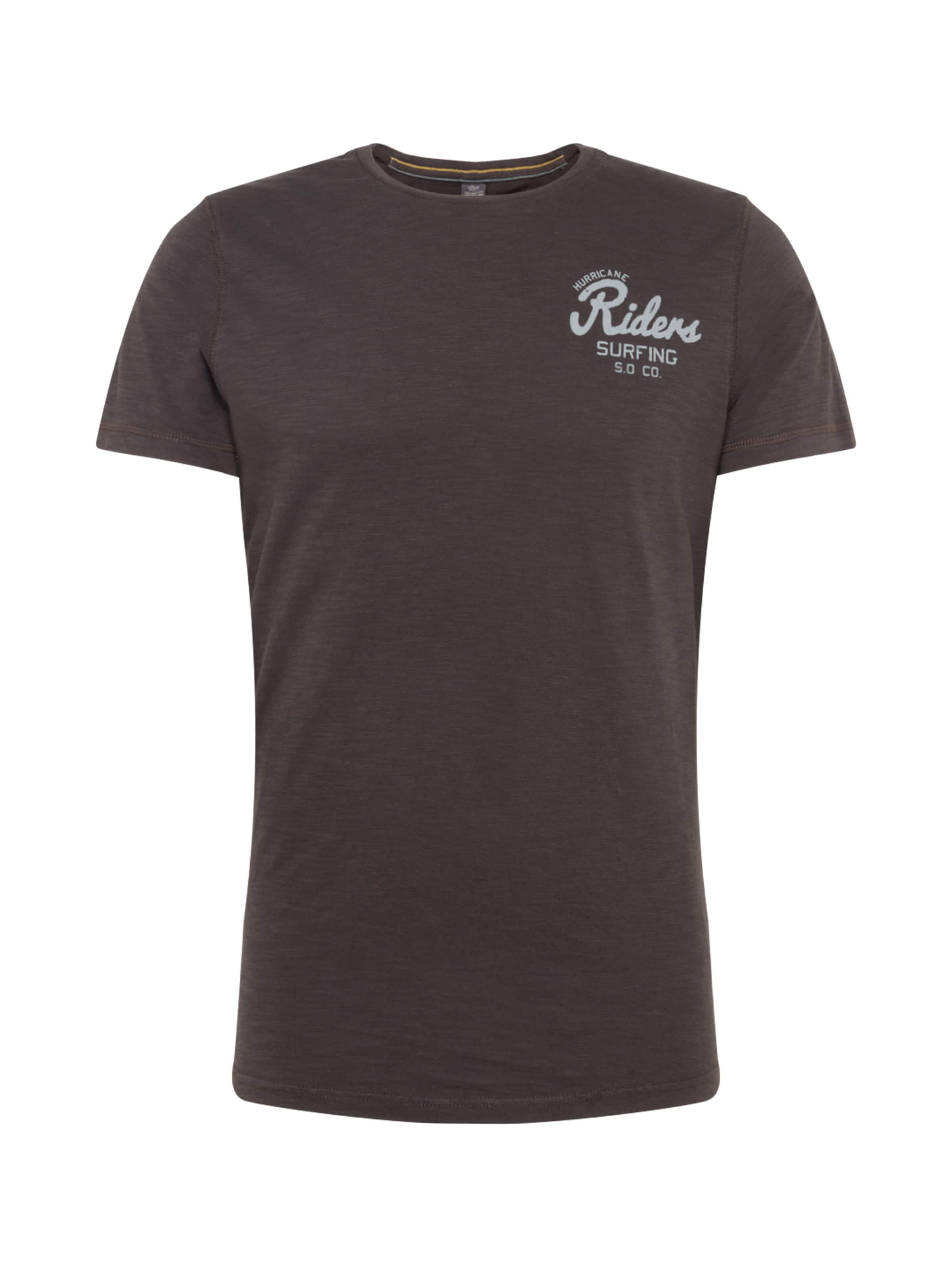 Label T En shirt Foncé Red Vert oliver S uFKc3TlJ1