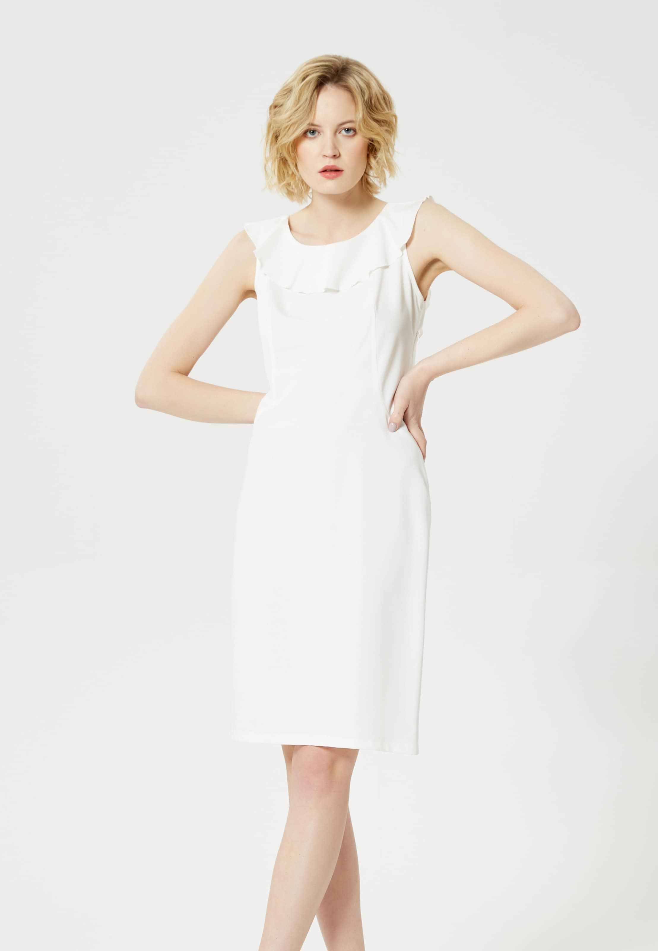 Usha Robe En Fourreau Robe En Fourreau Usha Blanc UVGqzSMp