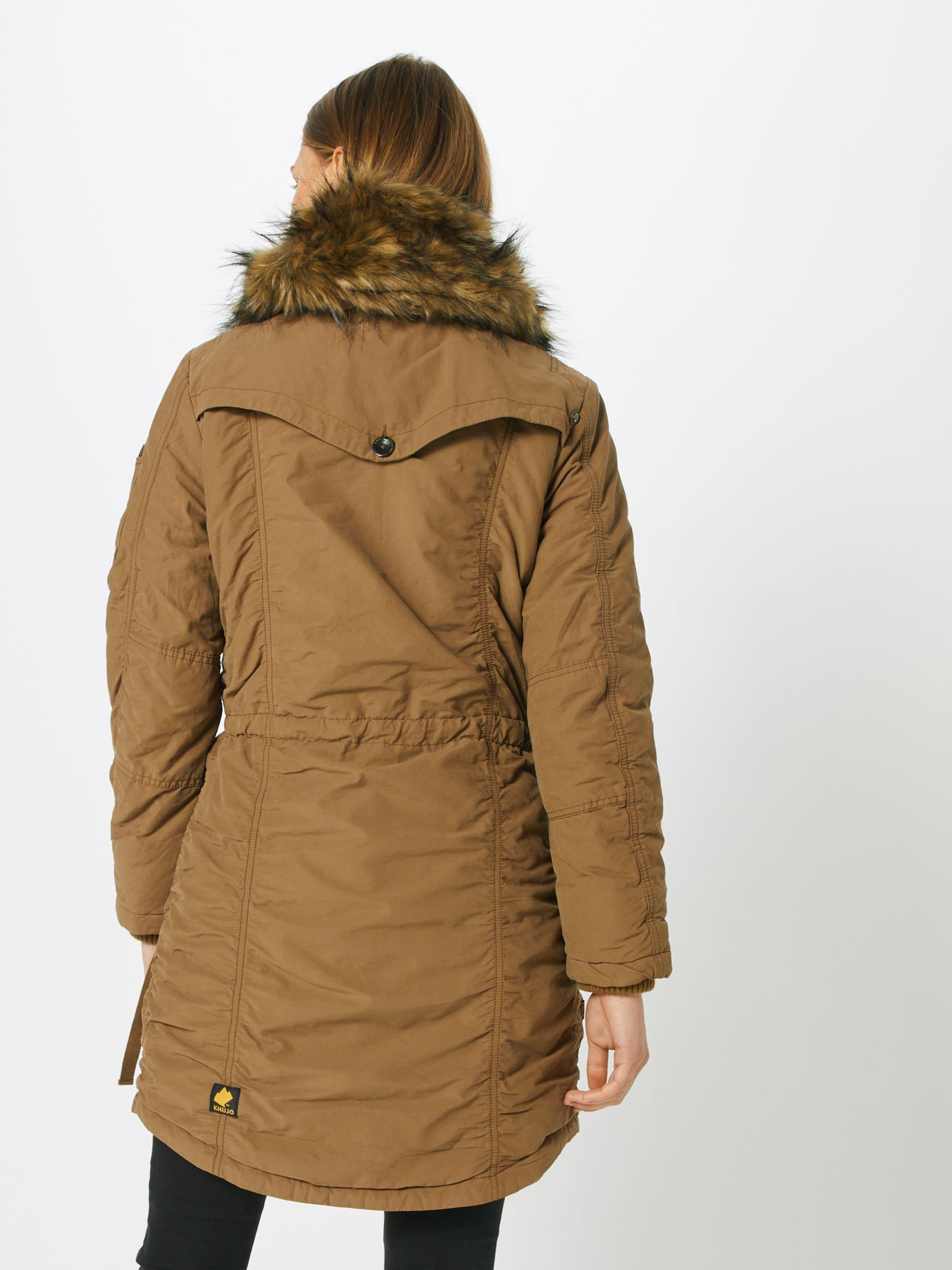 'stefania' Miel Khujo D'hiver Manteau En BedWCrox