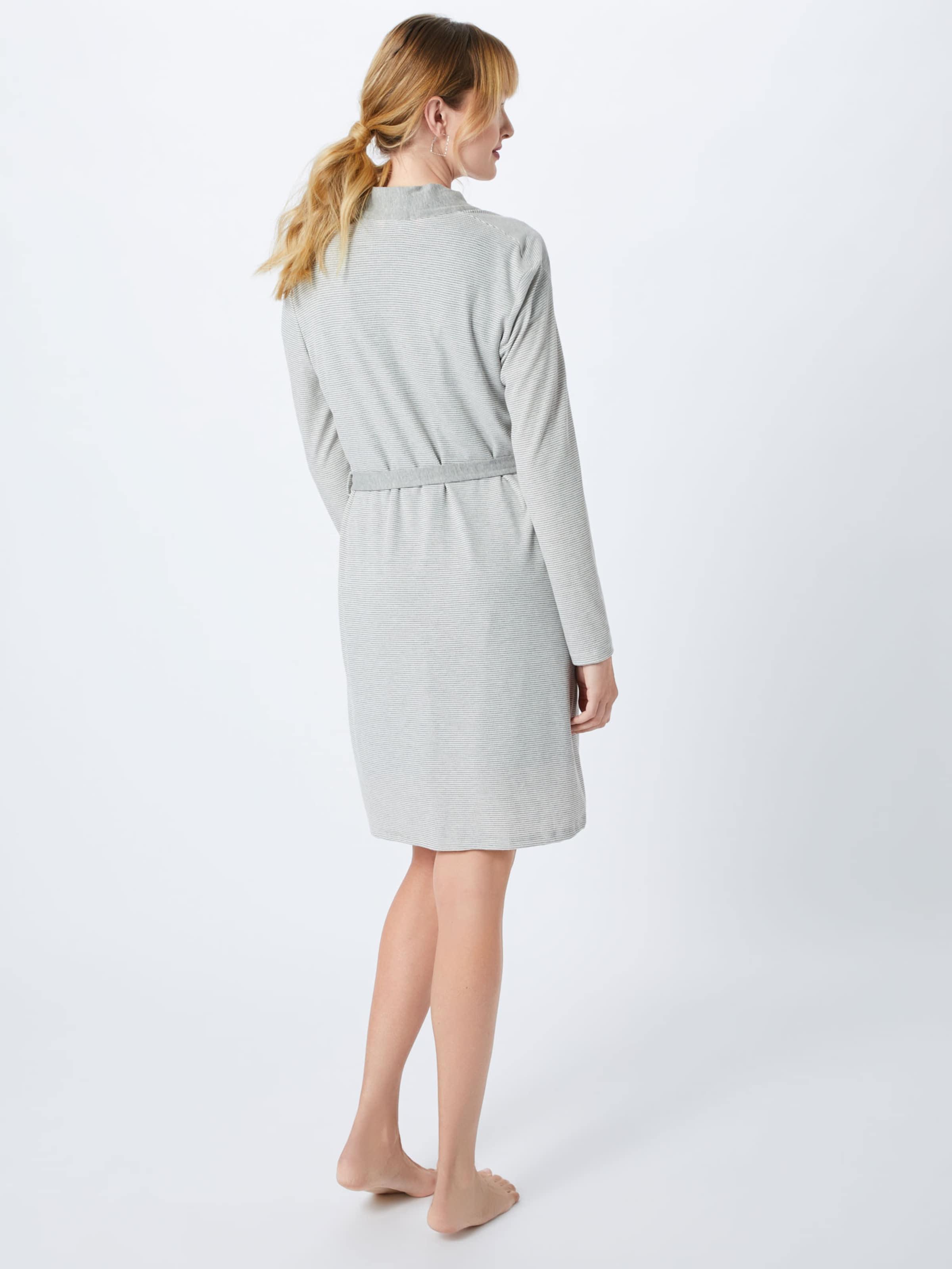 Hunkemöller En Jersey Rib' 'robe Chambre Robe Gris De jVLqMGpUSz