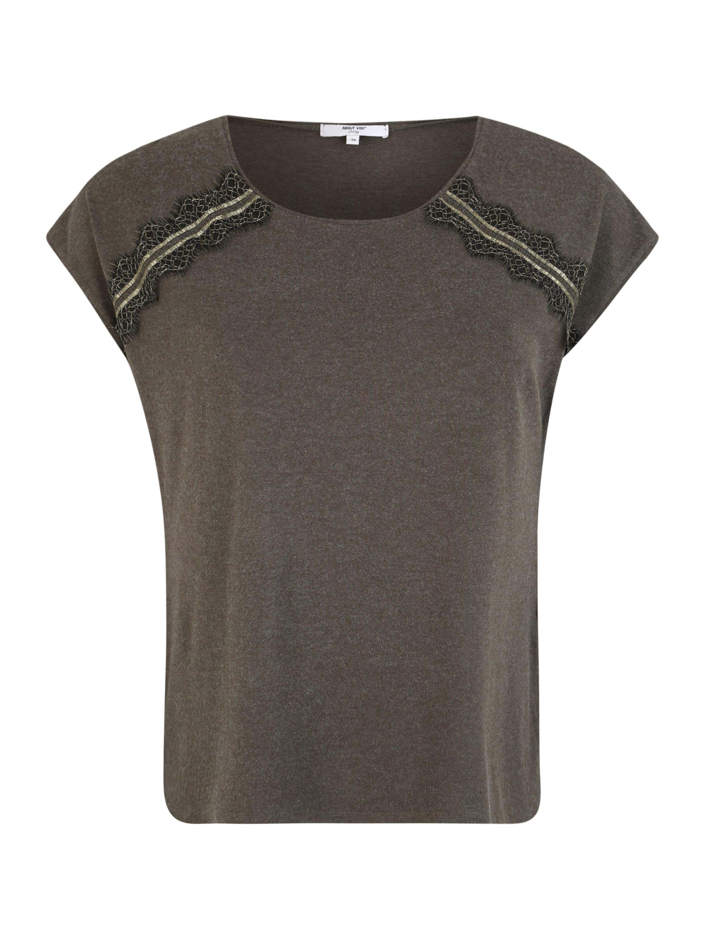 En 'naja' Anthracite You T Curvy shirt About u15TJl3cFK