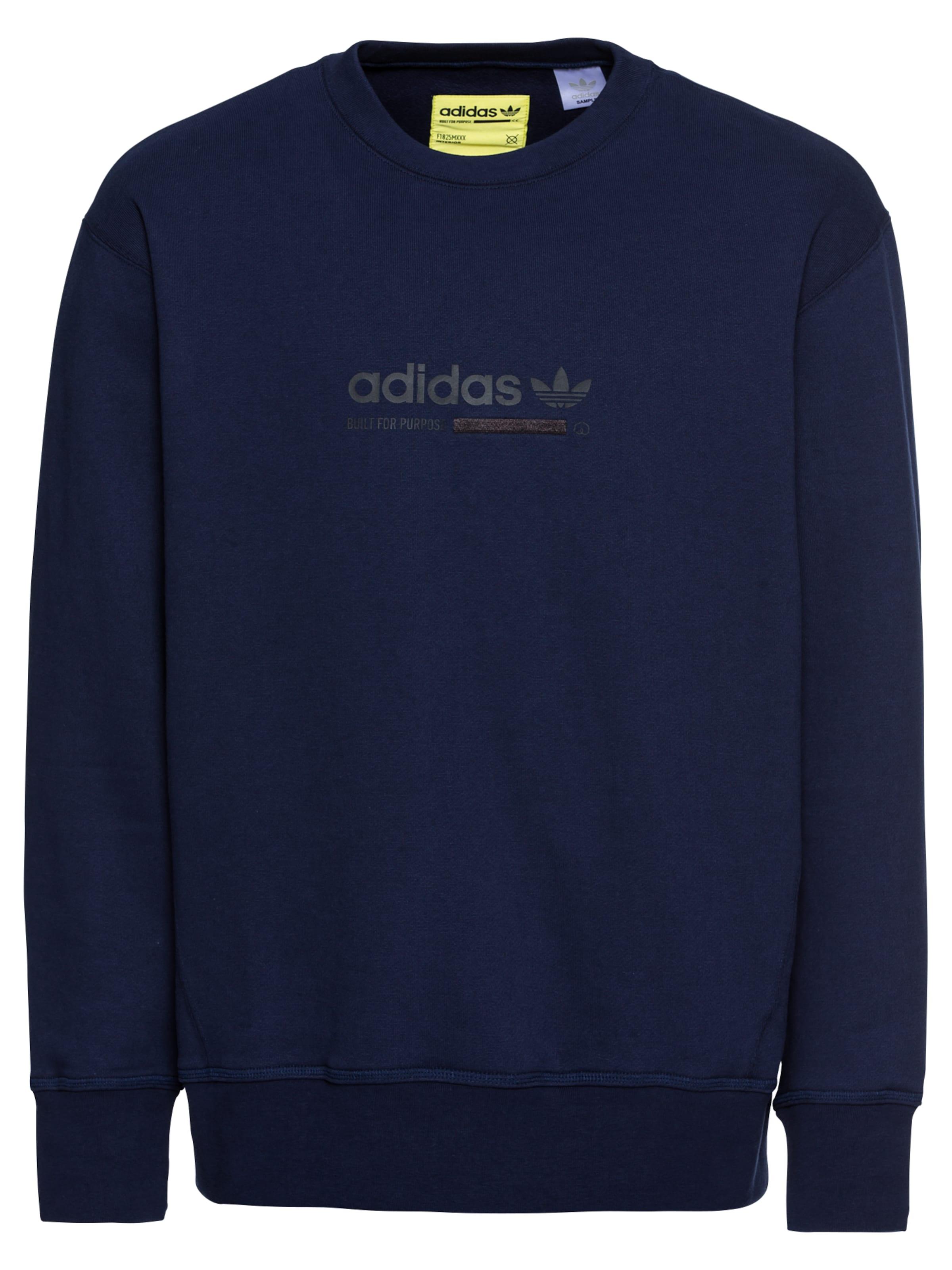 'kaval Originals Sweat En Marine Adidas shirt Crew' Bleu XlOwZPkuiT