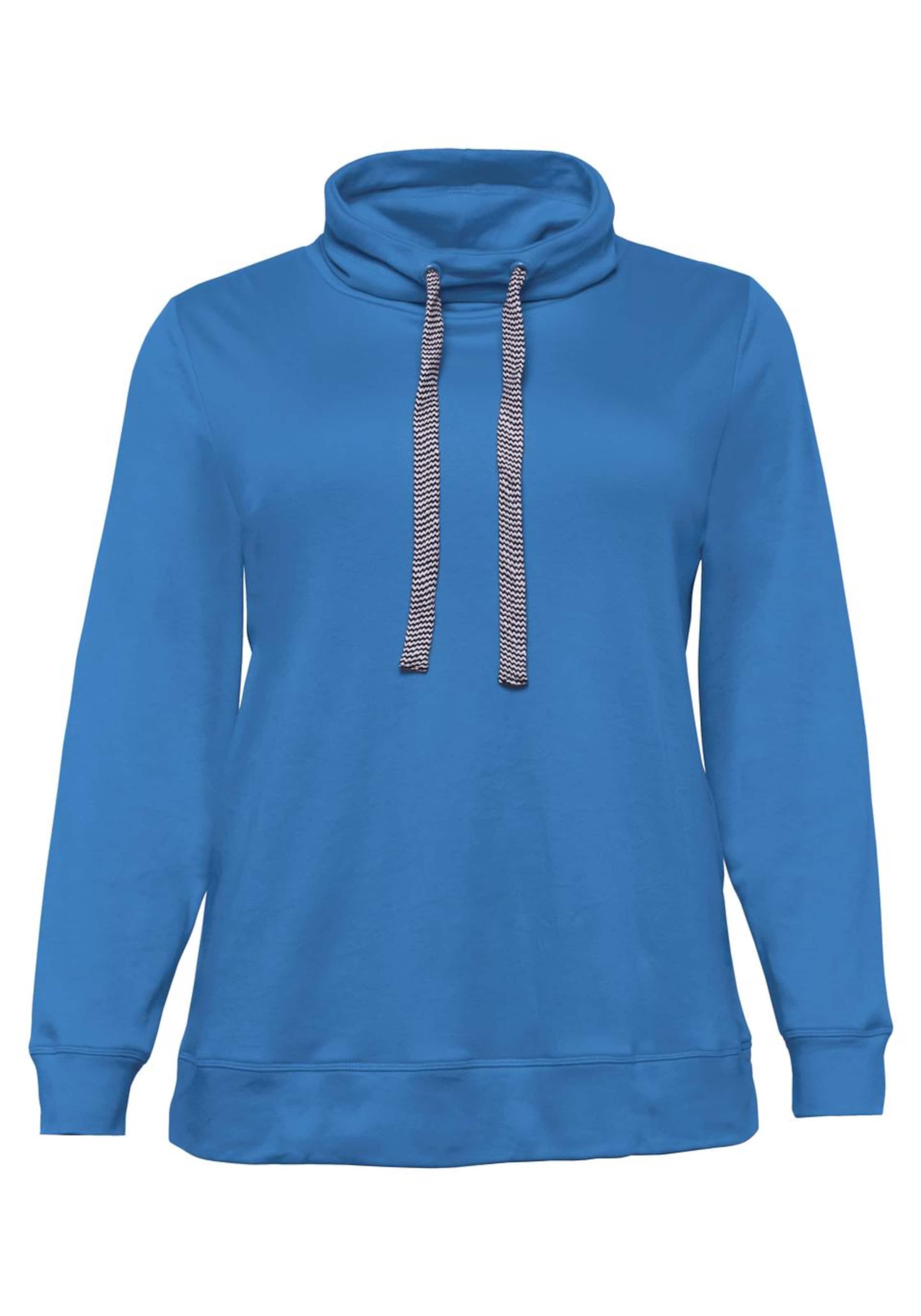 Sheego Sweatshirt In Sweatshirt In Royalblau Sheego Royalblau H2WE9DI