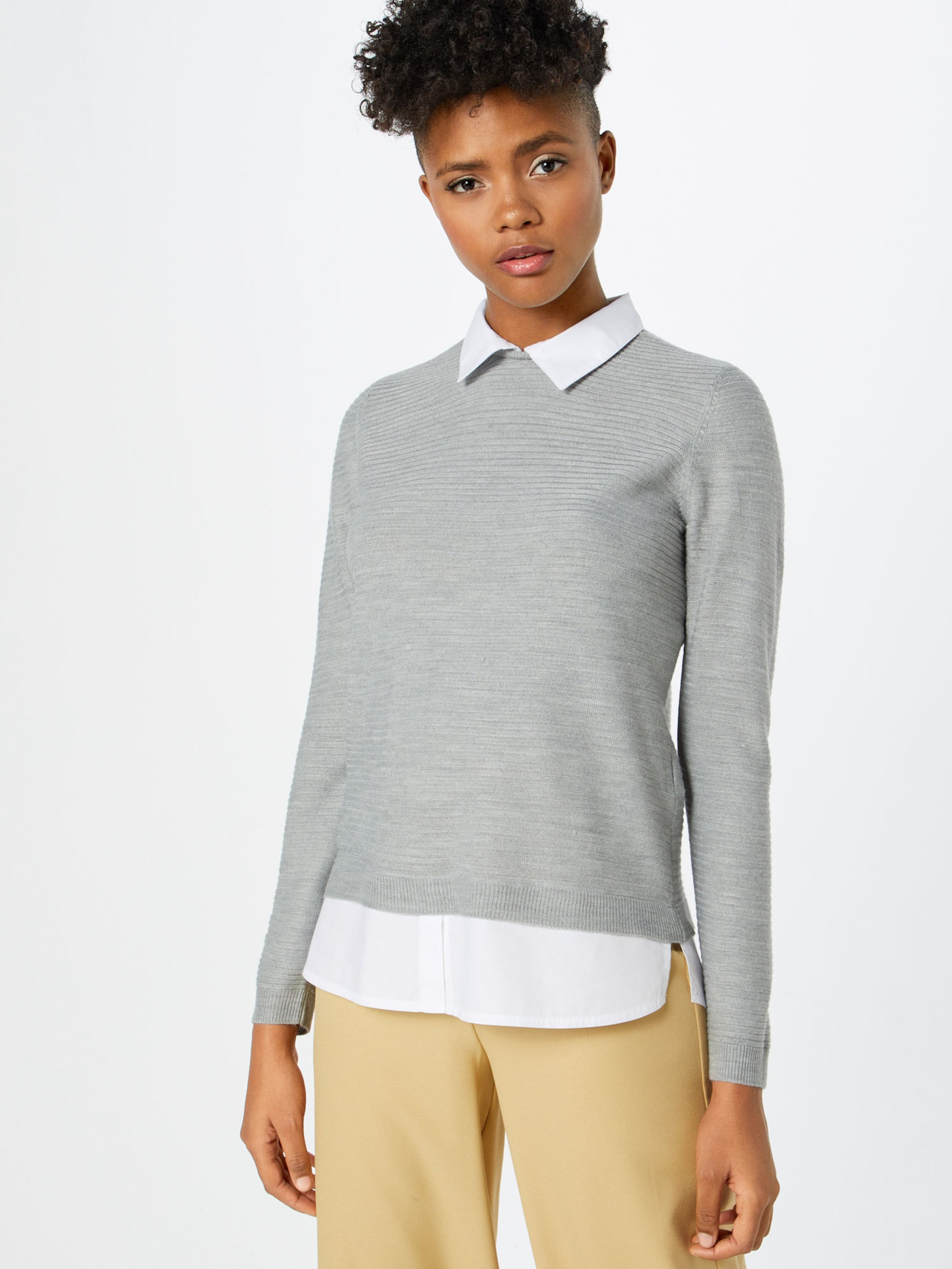 Yong Jacqueline De Pullover HellgrauWei In dCeWErQxBo