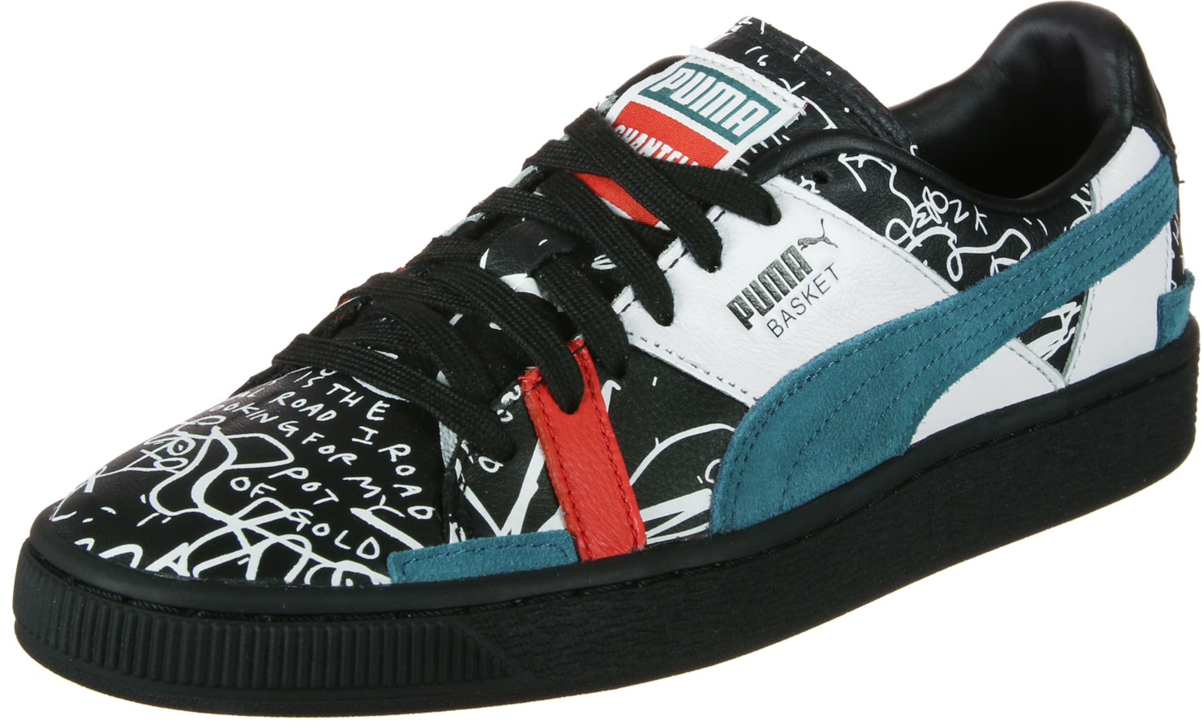 Puma PastellblauRot In Schwarz Sneaker Weiß 9WDHI2E