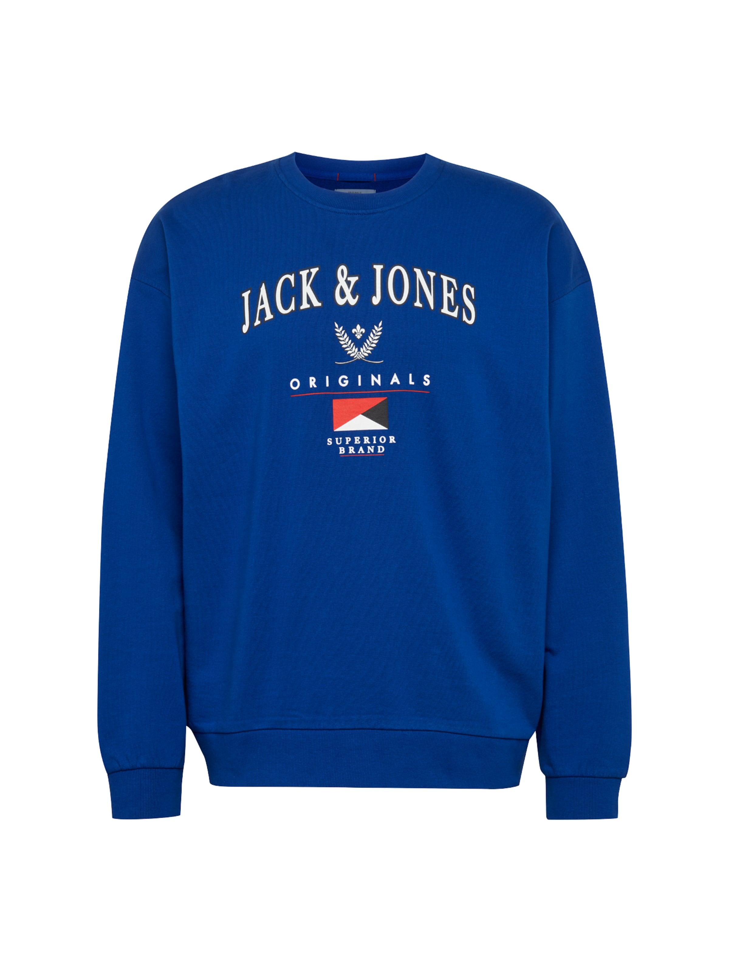 En Jones Jackamp; shirt RougeBlanc 'joreas' Sweat PkuXiZ