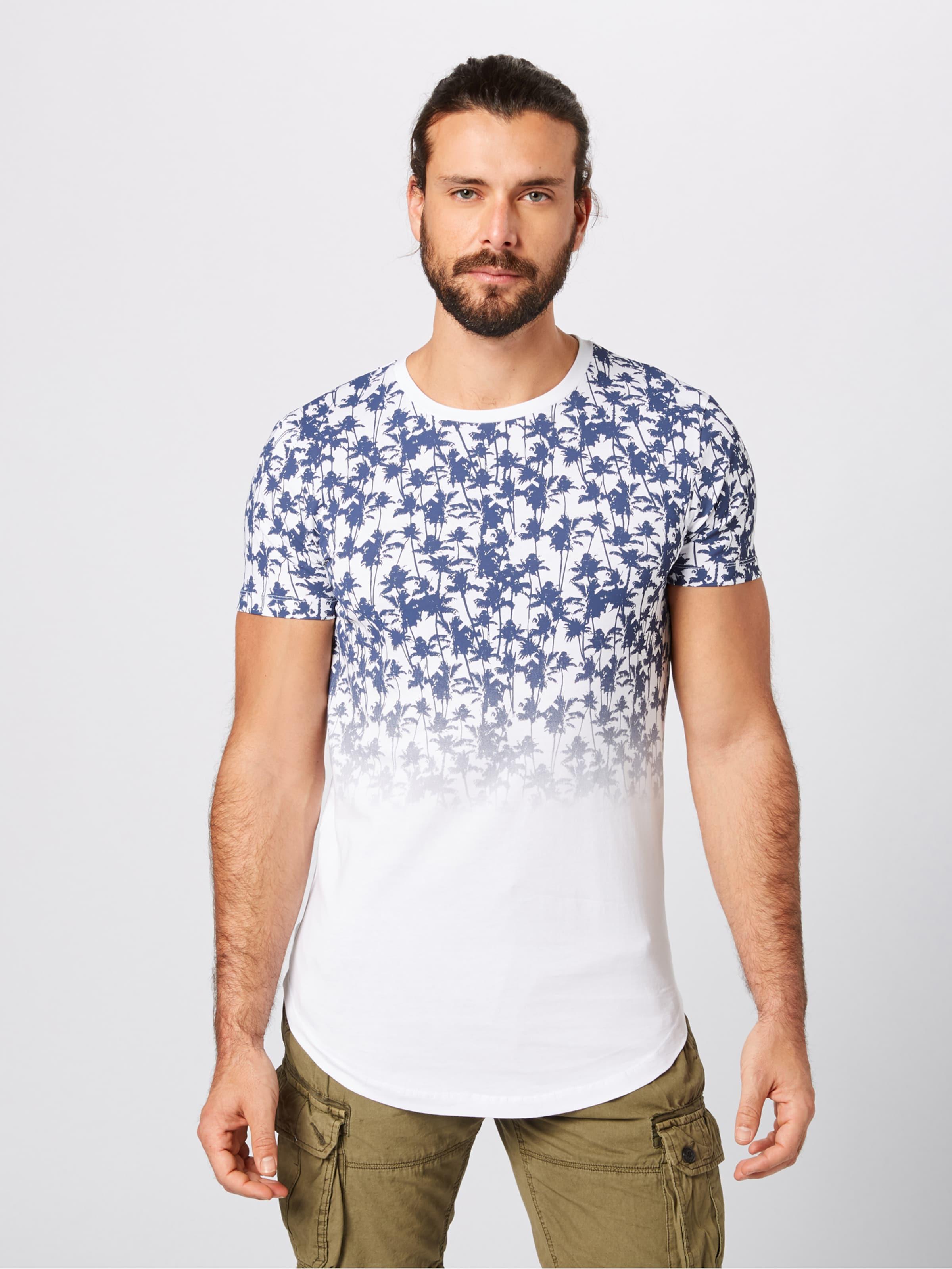 Tom shirt T De Denim CouleursBlanc Mélange En Tailor GLqpSUzVM