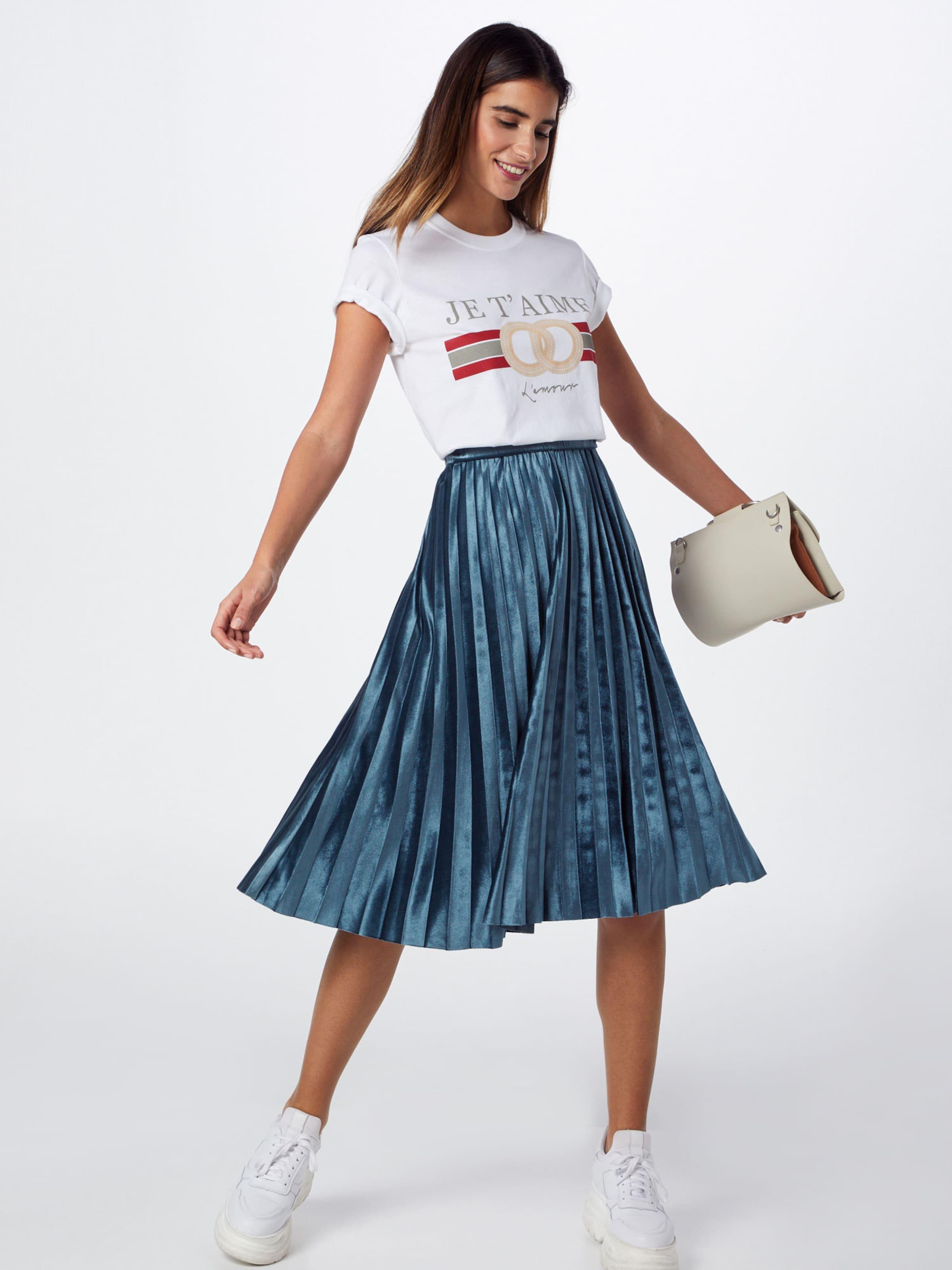 shirt Aime T 'je T Graphic Tshirt' Missguided Blanc En Oversized rCxshQtd