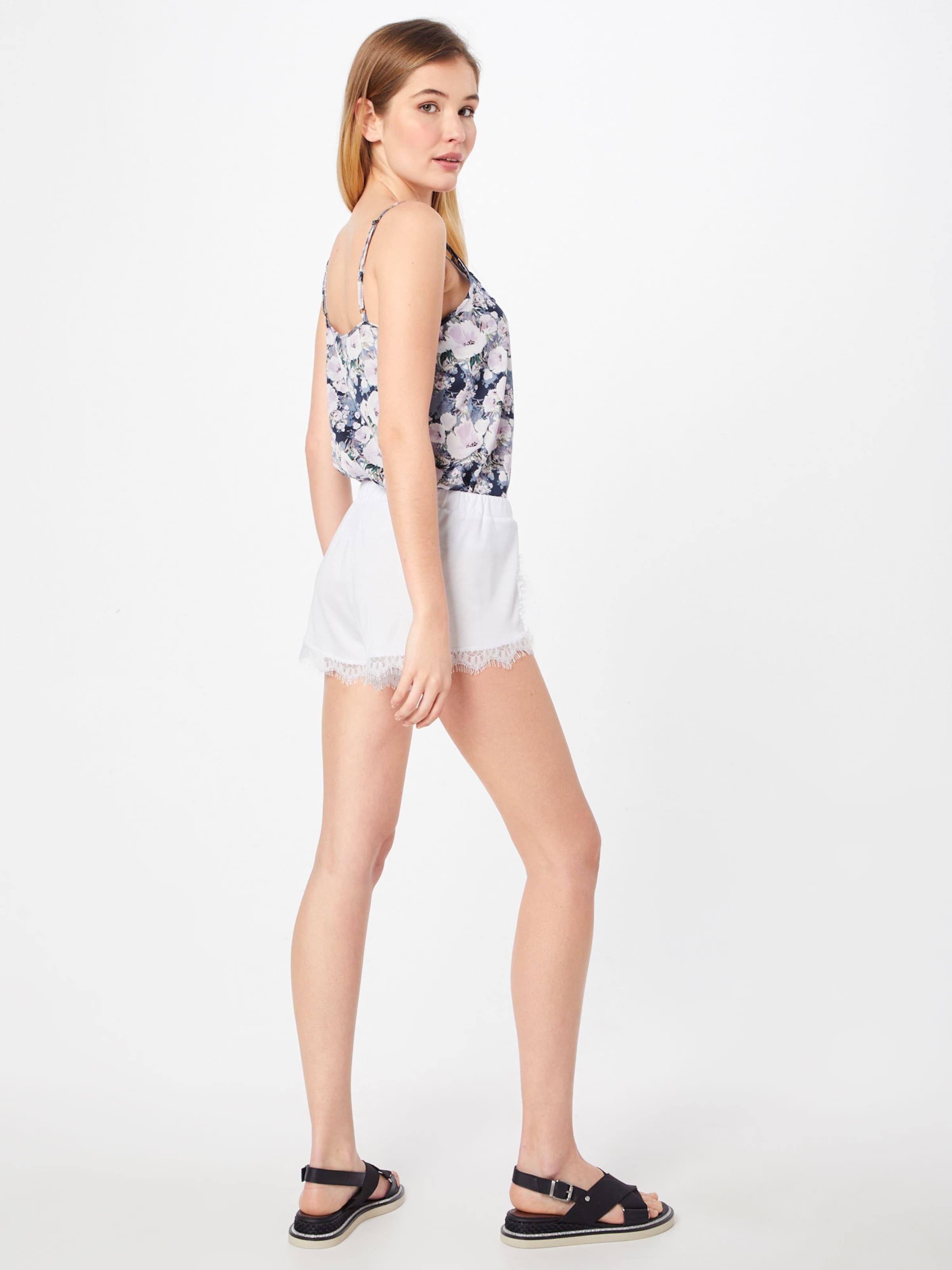 Detailed Rose Shorts' Pantalon Lace kd 'overlapped En Na VUzpqSGM