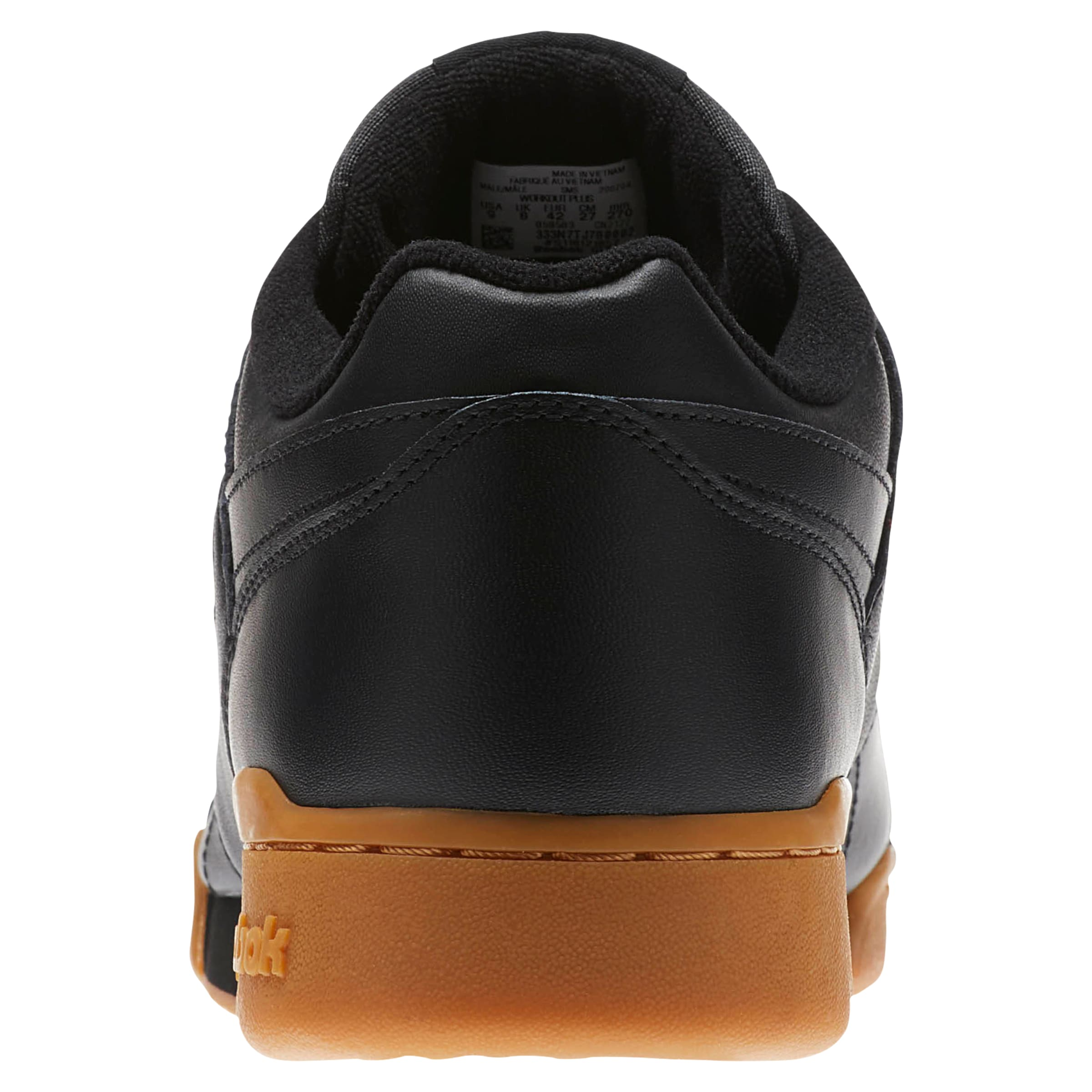 Classic 'workout En CognacNoir Plus' Reebok Baskets Basses E9HIDW2