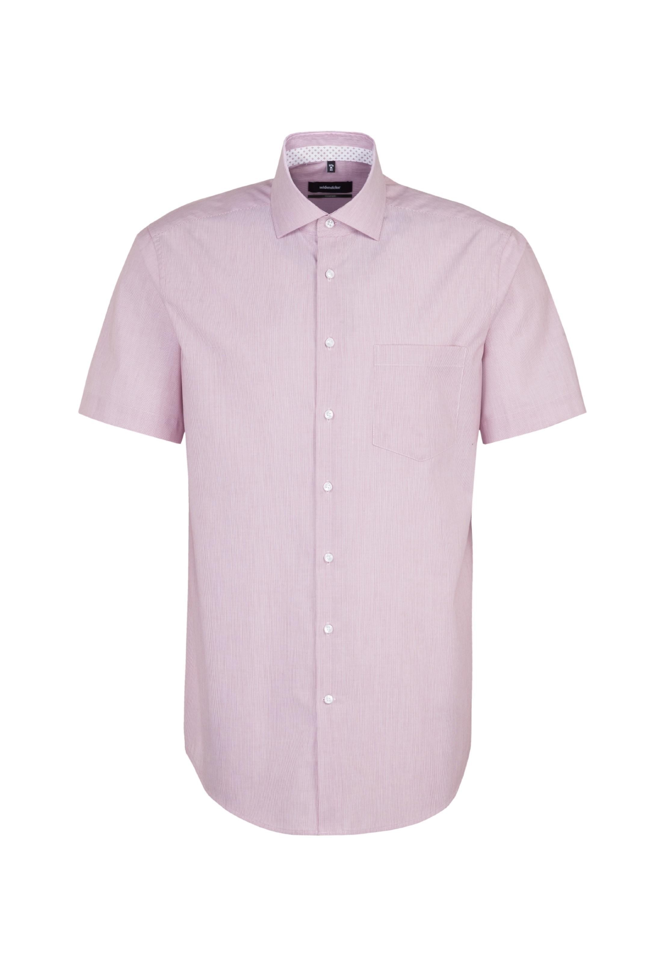 Seidensticker WijnroodWit Overhemd In In Overhemd Seidensticker Zakelijk Zakelijk pSzMUV