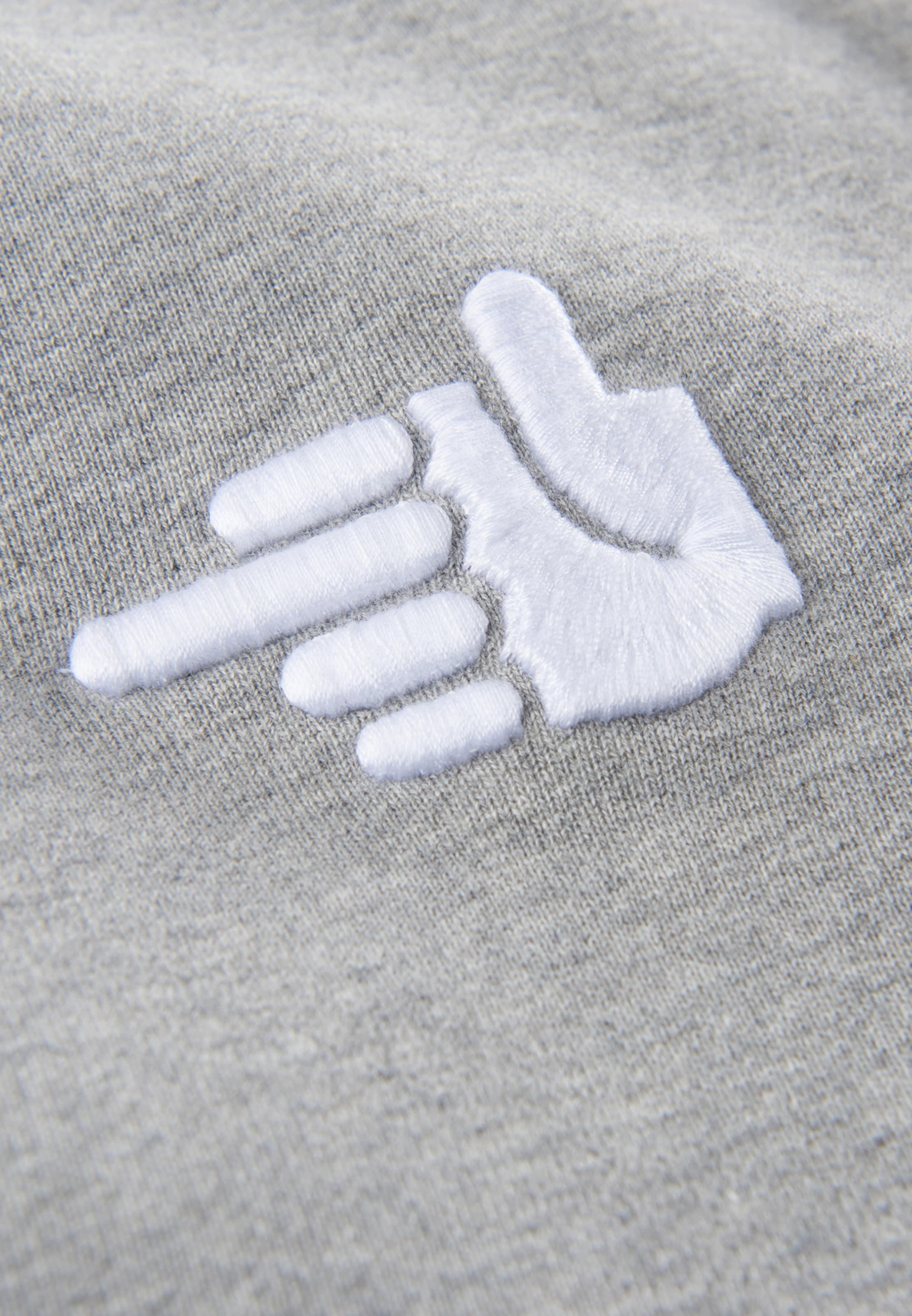 shirt A Gris 'be Sweat En Phyne Lover' ChinéBlanc SMVpUjqLzG