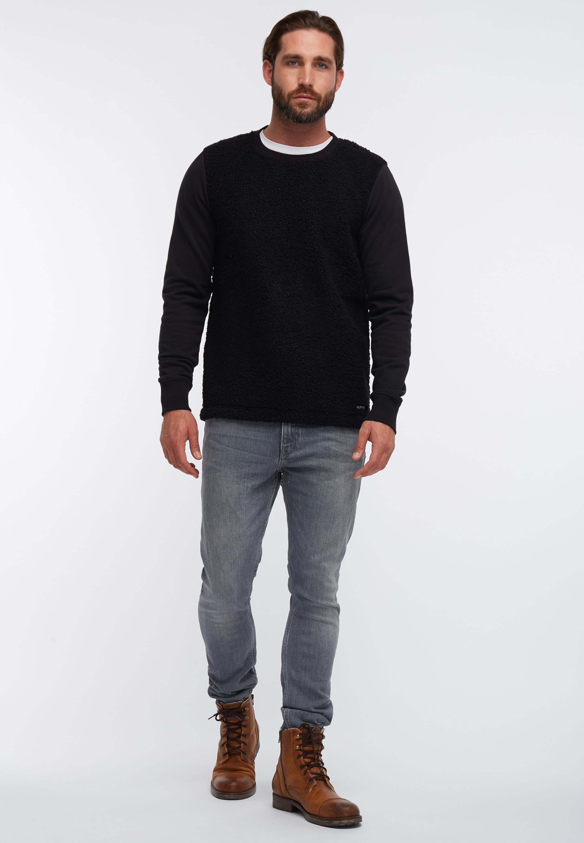 Dreimaster Sweat shirt En MarineNoir Sweat shirt MarineNoir Dreimaster En sQdhrt