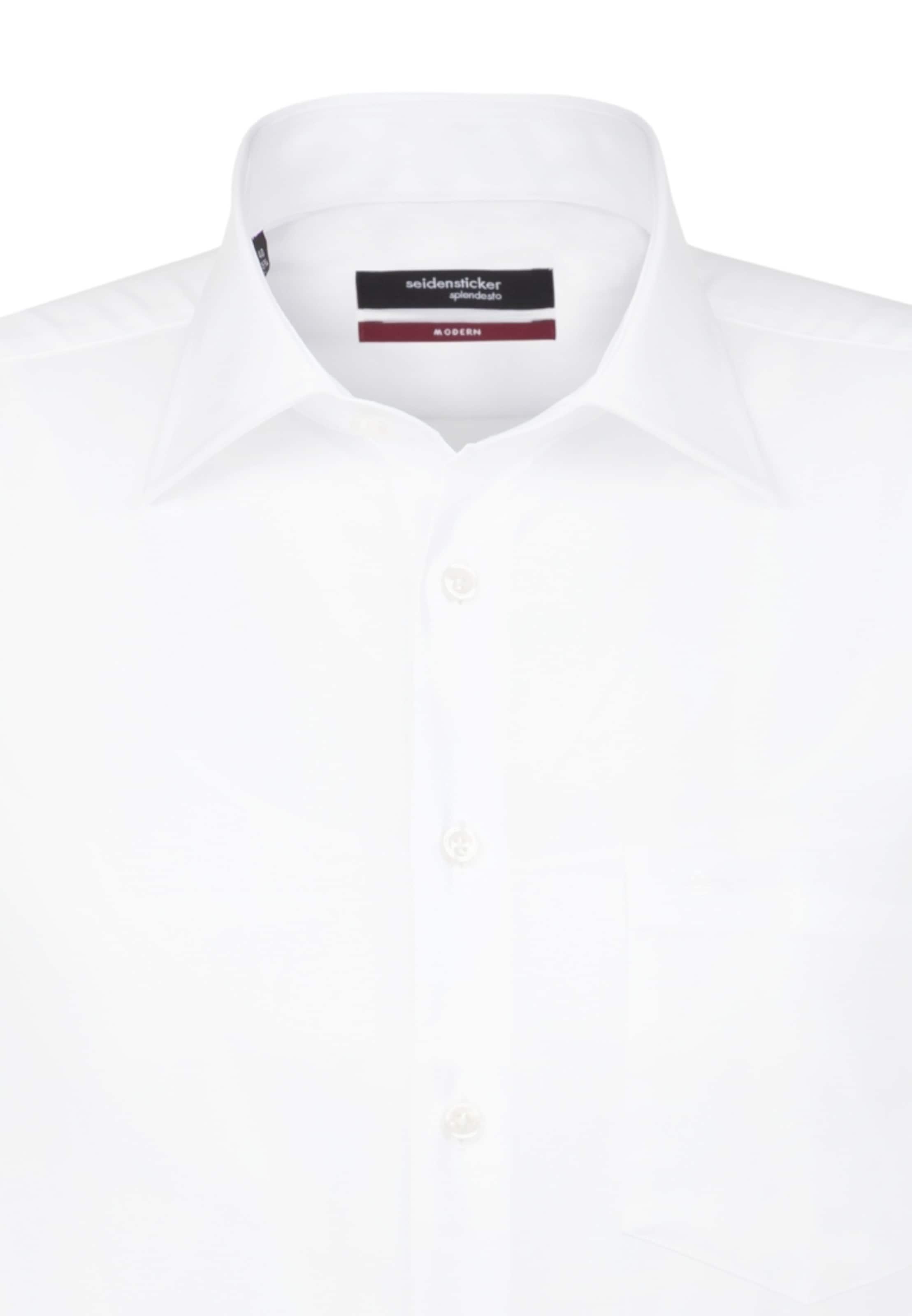 Seidensticker En Business Modern Chemise Blanc ' QrstdxhC