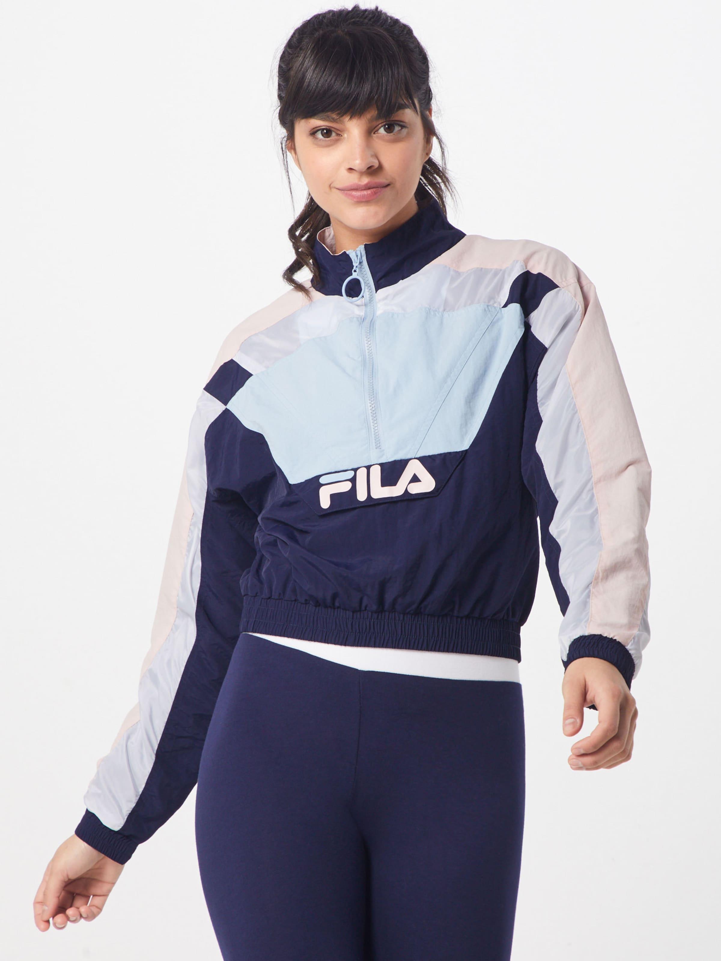 NavyMischfarben In Fila 'conchita' Jacke Rosa shtrCQdx