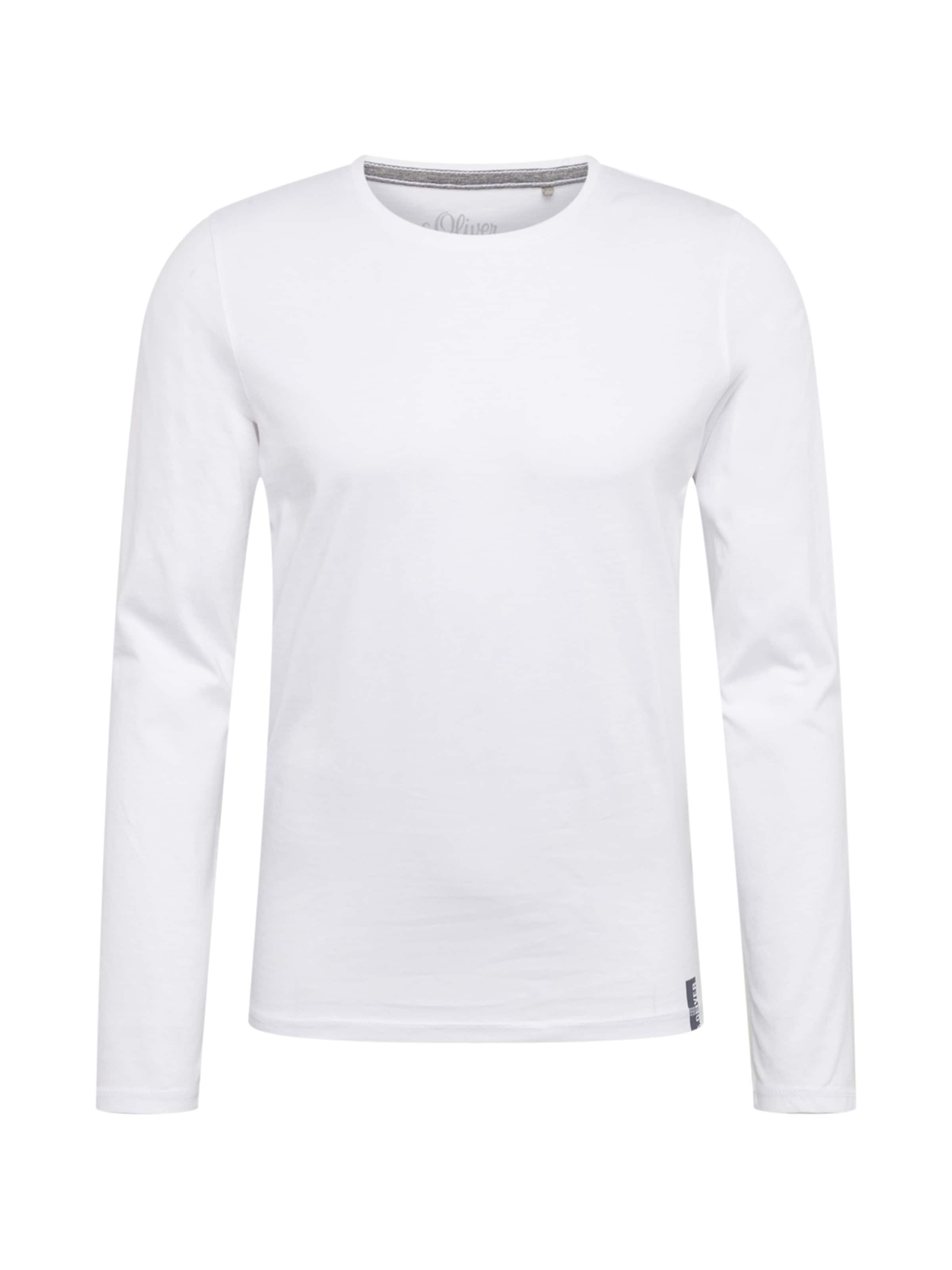 Label shirt oliver En T Red S Blanc tCdrxsQh