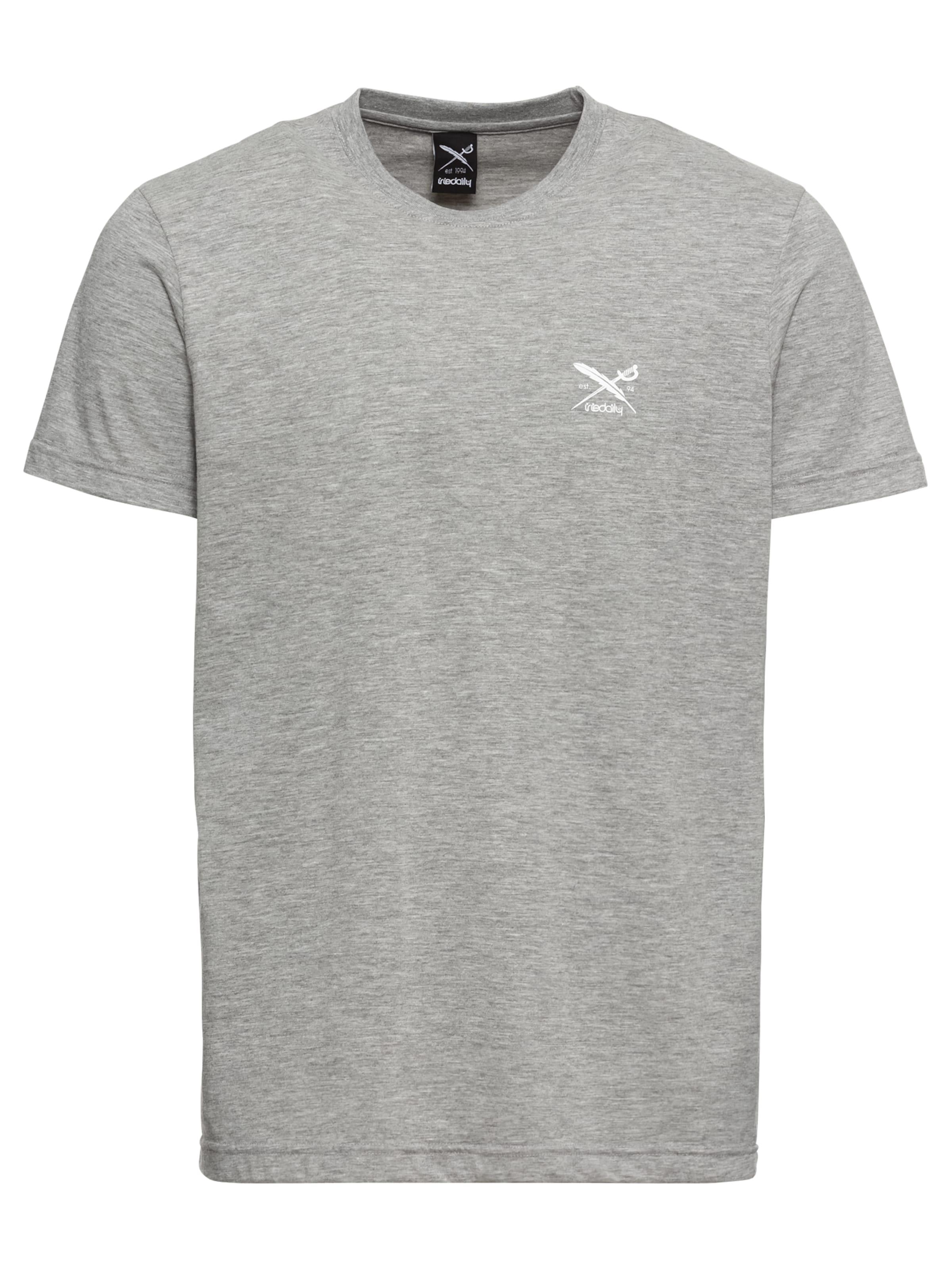 T shirt En Iriedaily 'chestflag' Aubergine Yf7vbgIy6