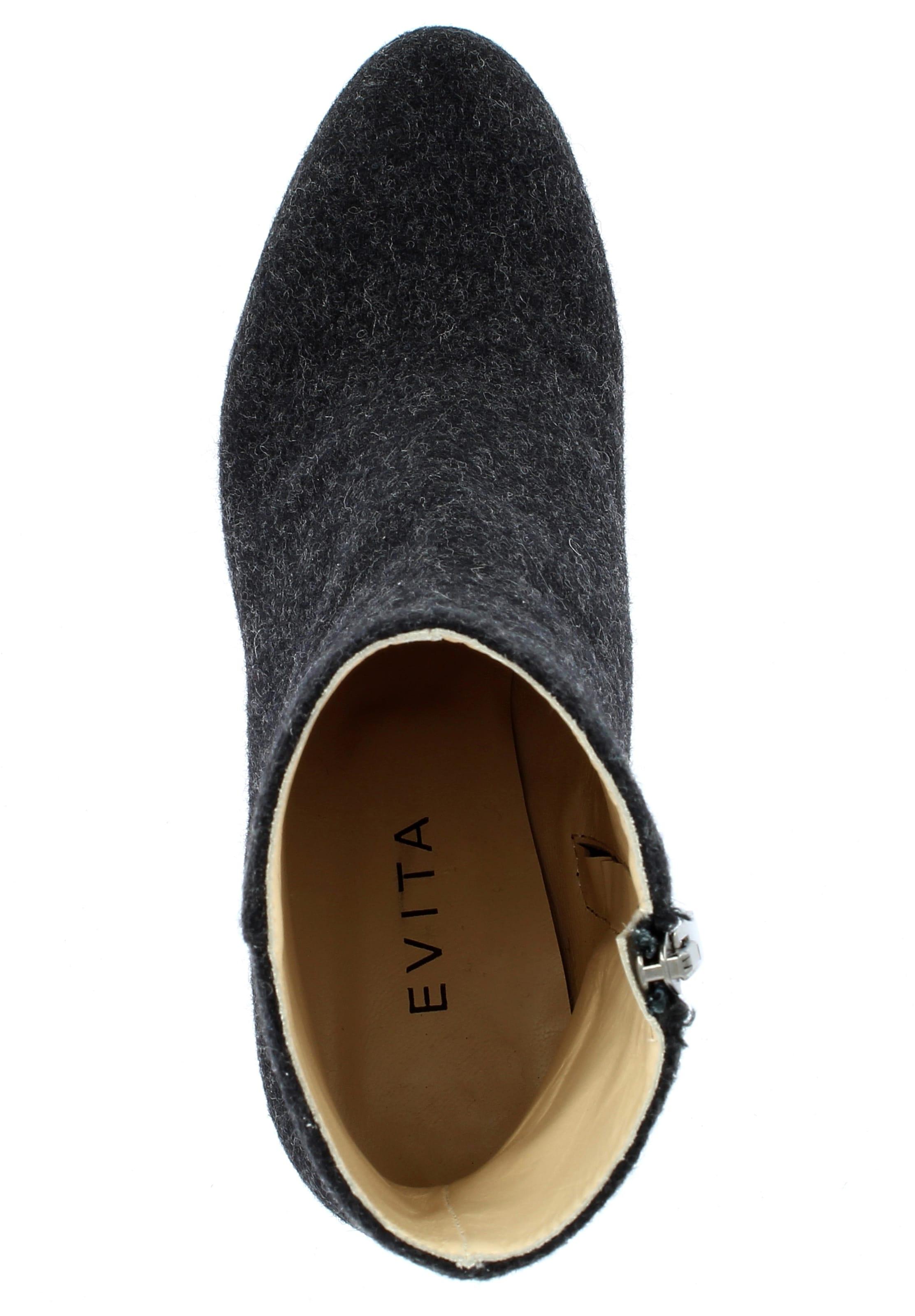 En Evita Evita Bottines Bottines Noir rCedBox