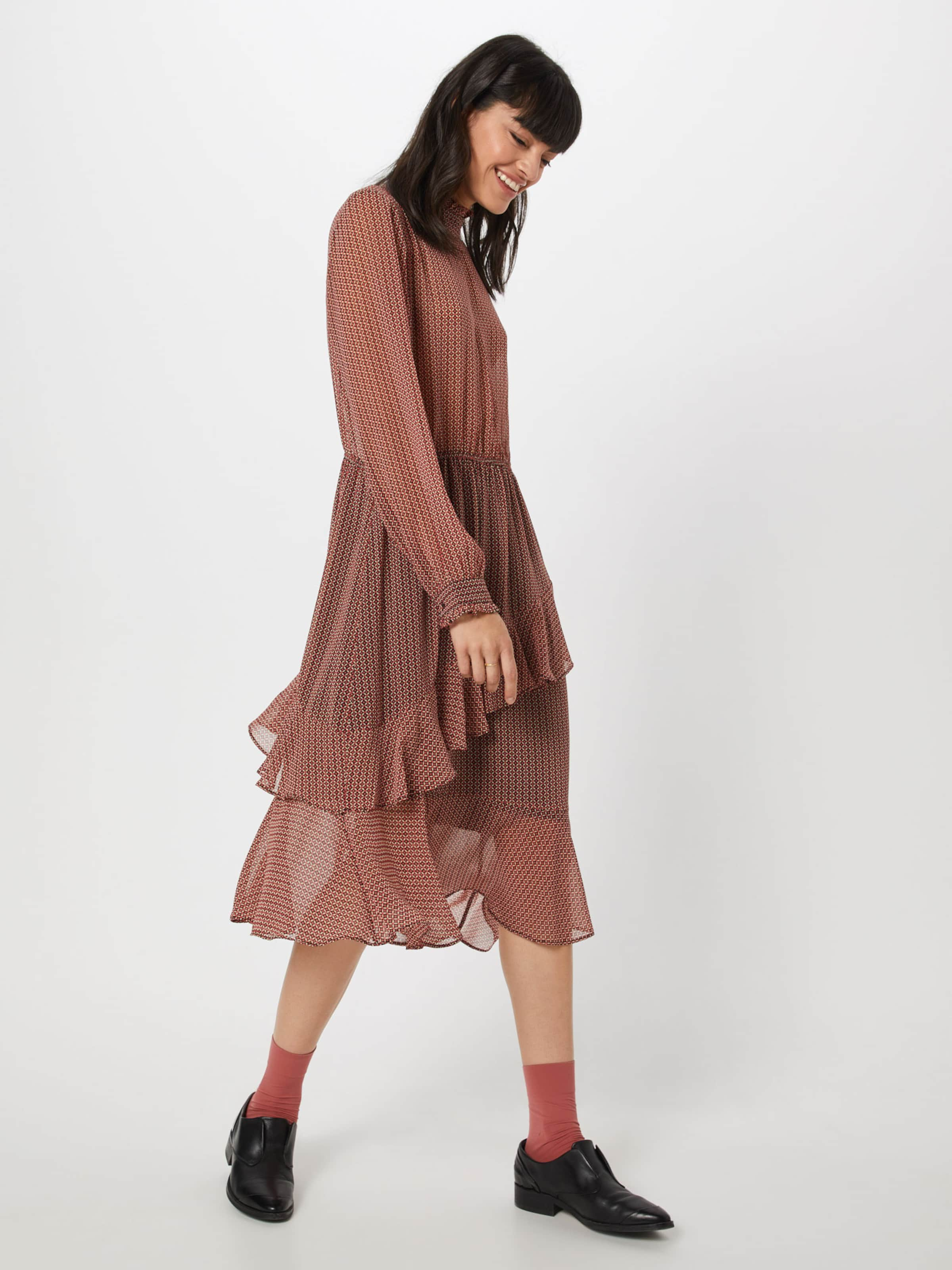 Robe En Female Second Dress' 'leen Rouge Yby7gf6v