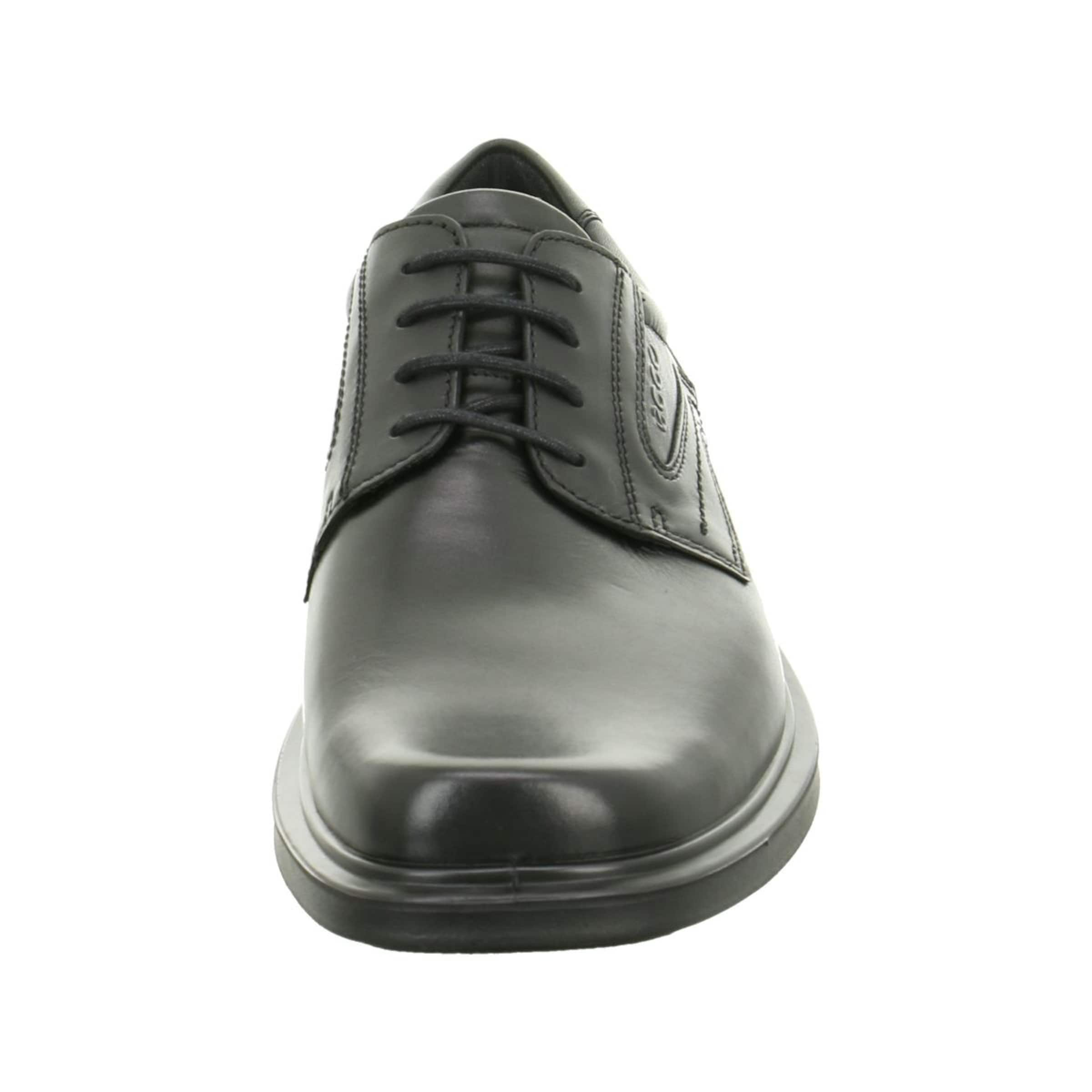 À Noir Lacets En Chaussure Ecco nwX0P8kO